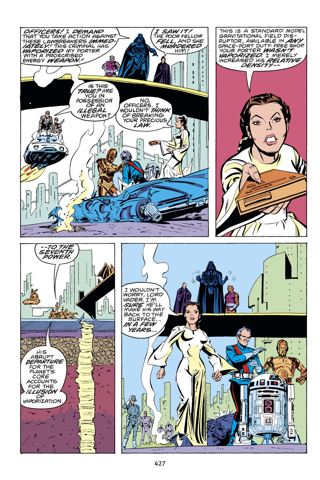 Read online Star Wars Omnibus comic -  Issue # Vol. 14 - 421