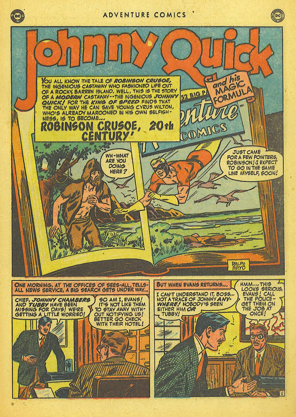 Read online Adventure Comics (1938) comic -  Issue #155 - 17