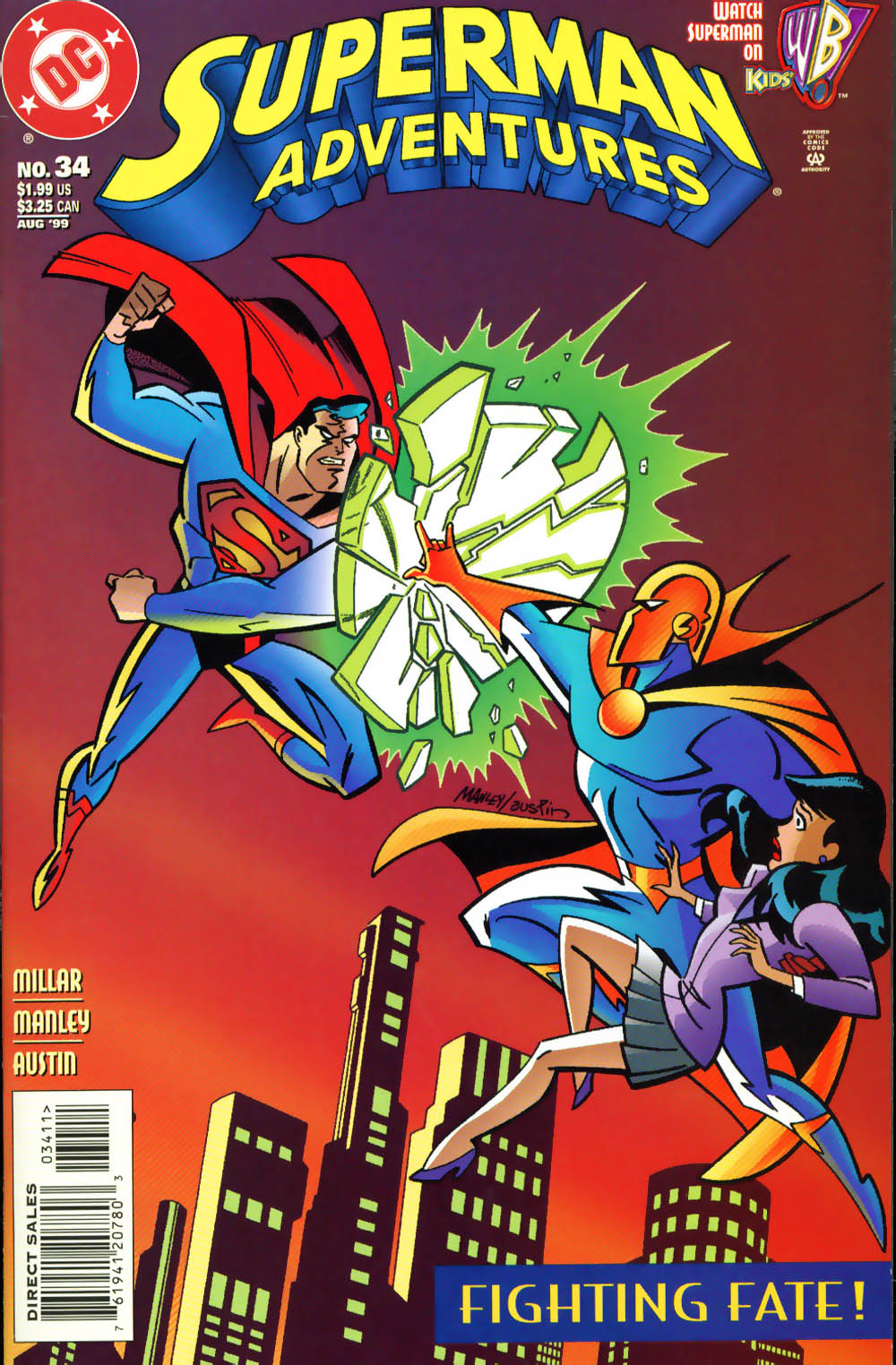 Superman Adventure (1996-2002) issue 34 - Page 1