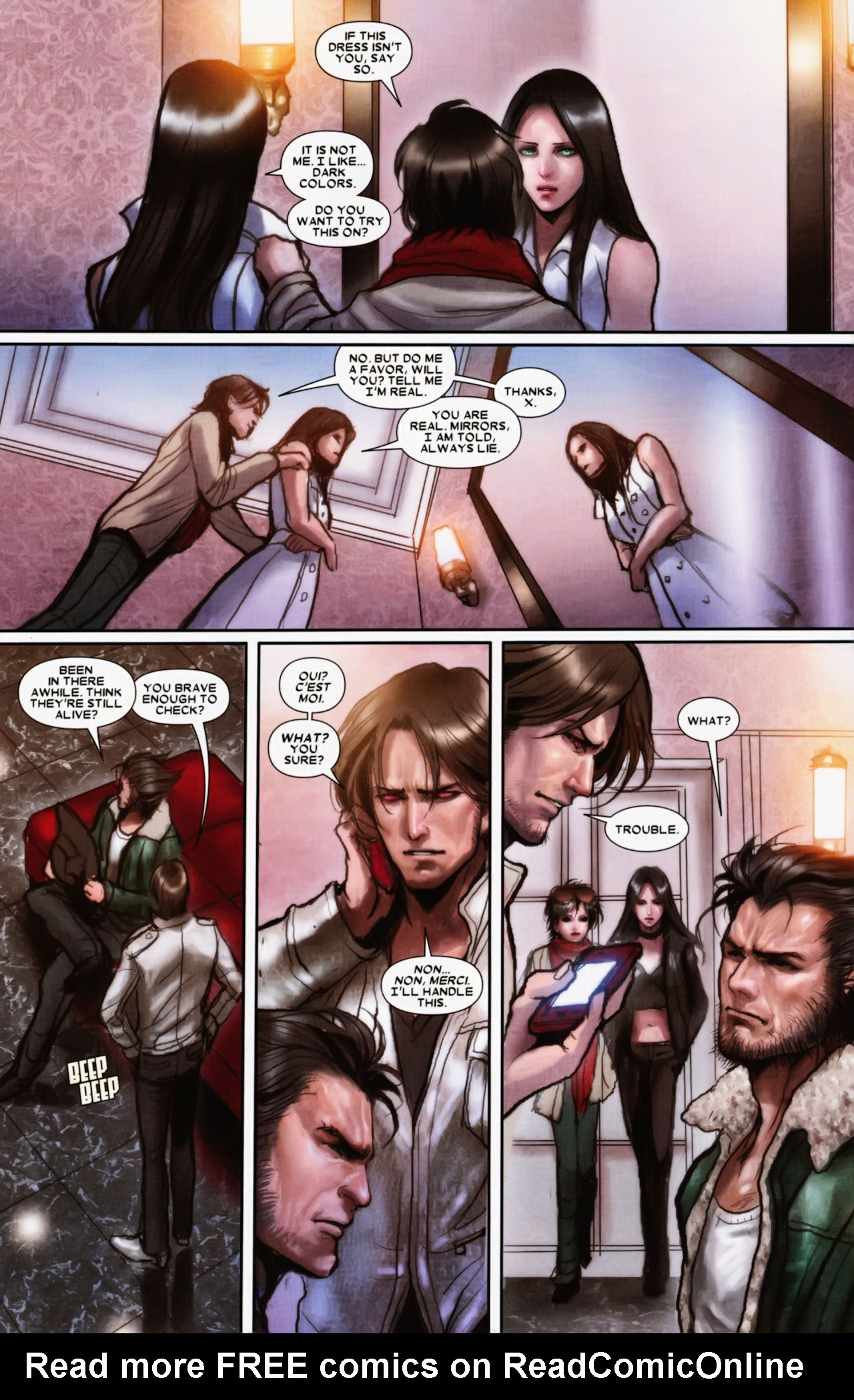 Read online X-23 (2010) comic -  Issue #11 - 10