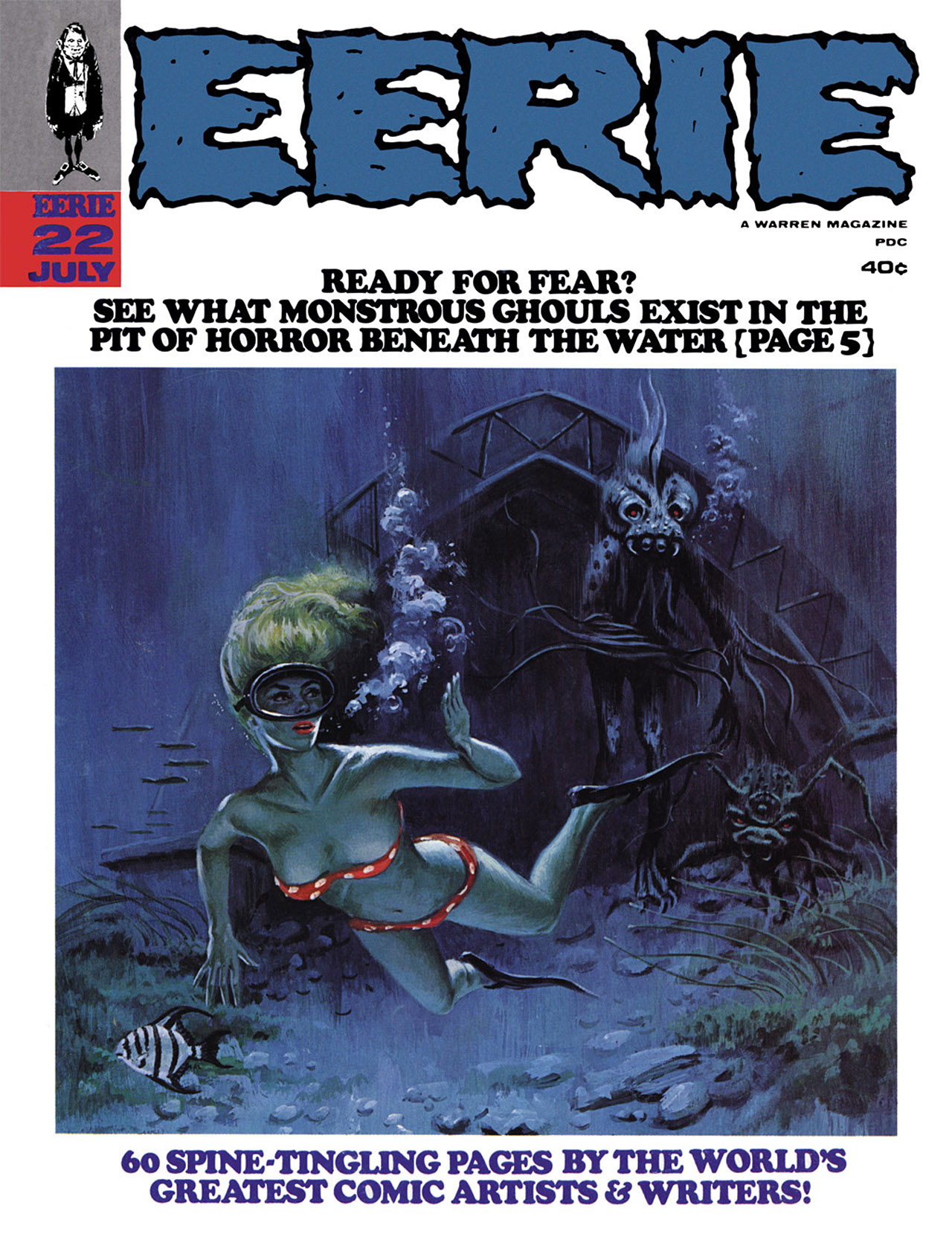 Read online Eerie Archives comic -  Issue # TPB 4 - 205