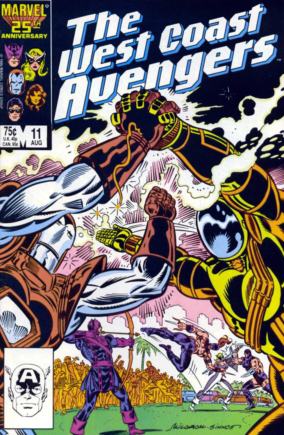 West Coast Avengers (1985) 11 Page 1
