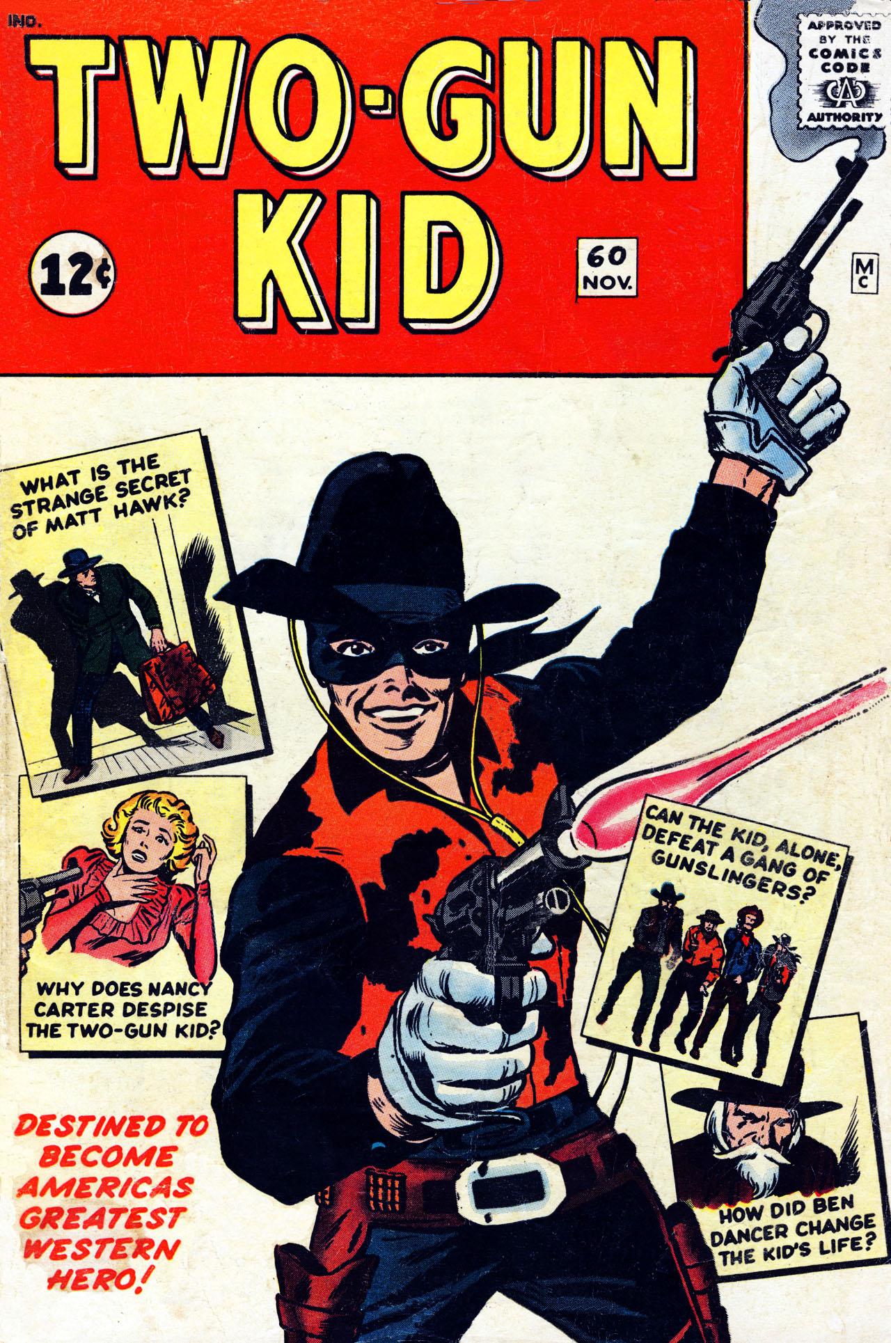 Read online Two-Gun Kid comic -  Issue #60 - 1