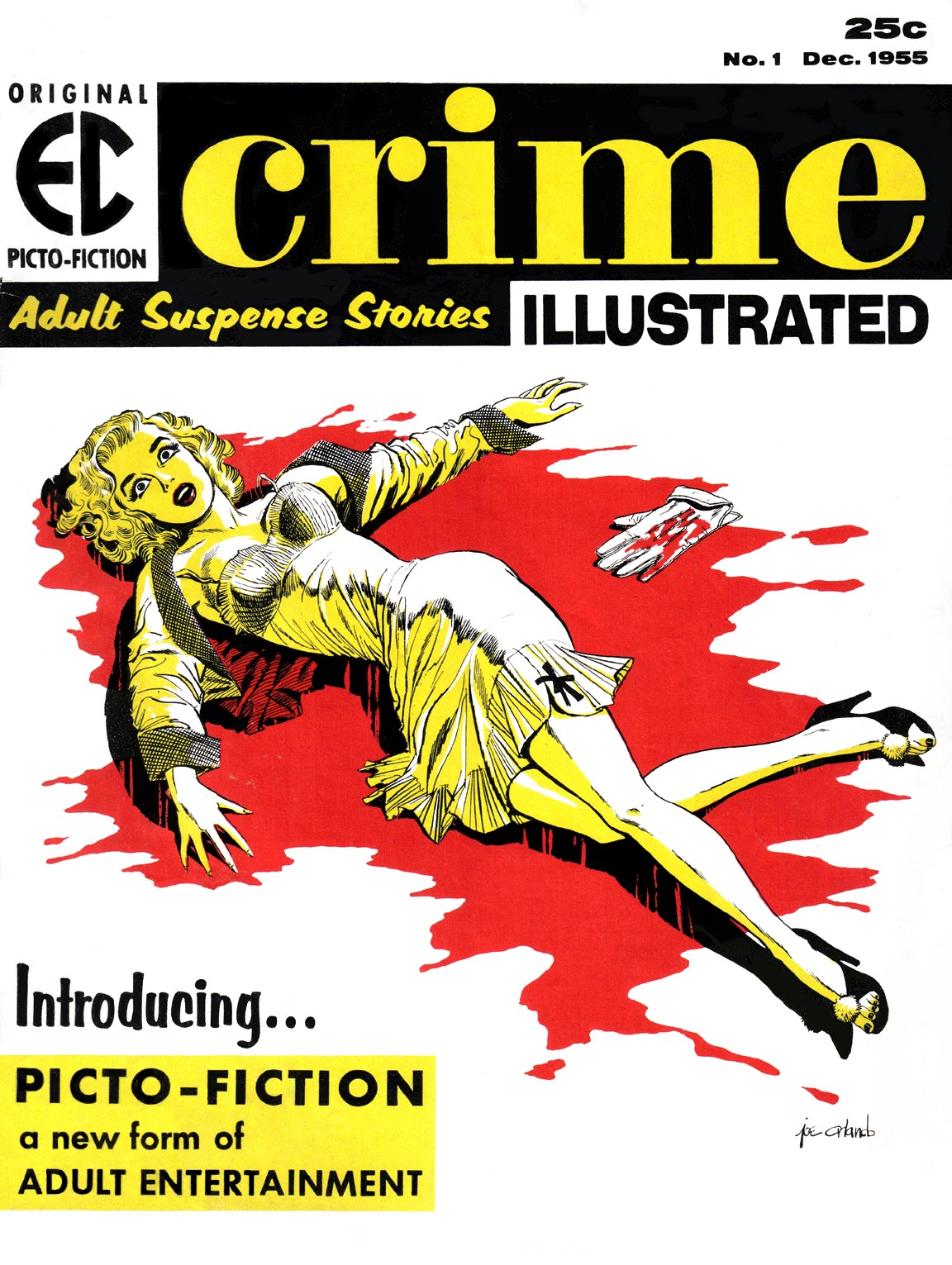 Crime Illustrated 1 Page 1