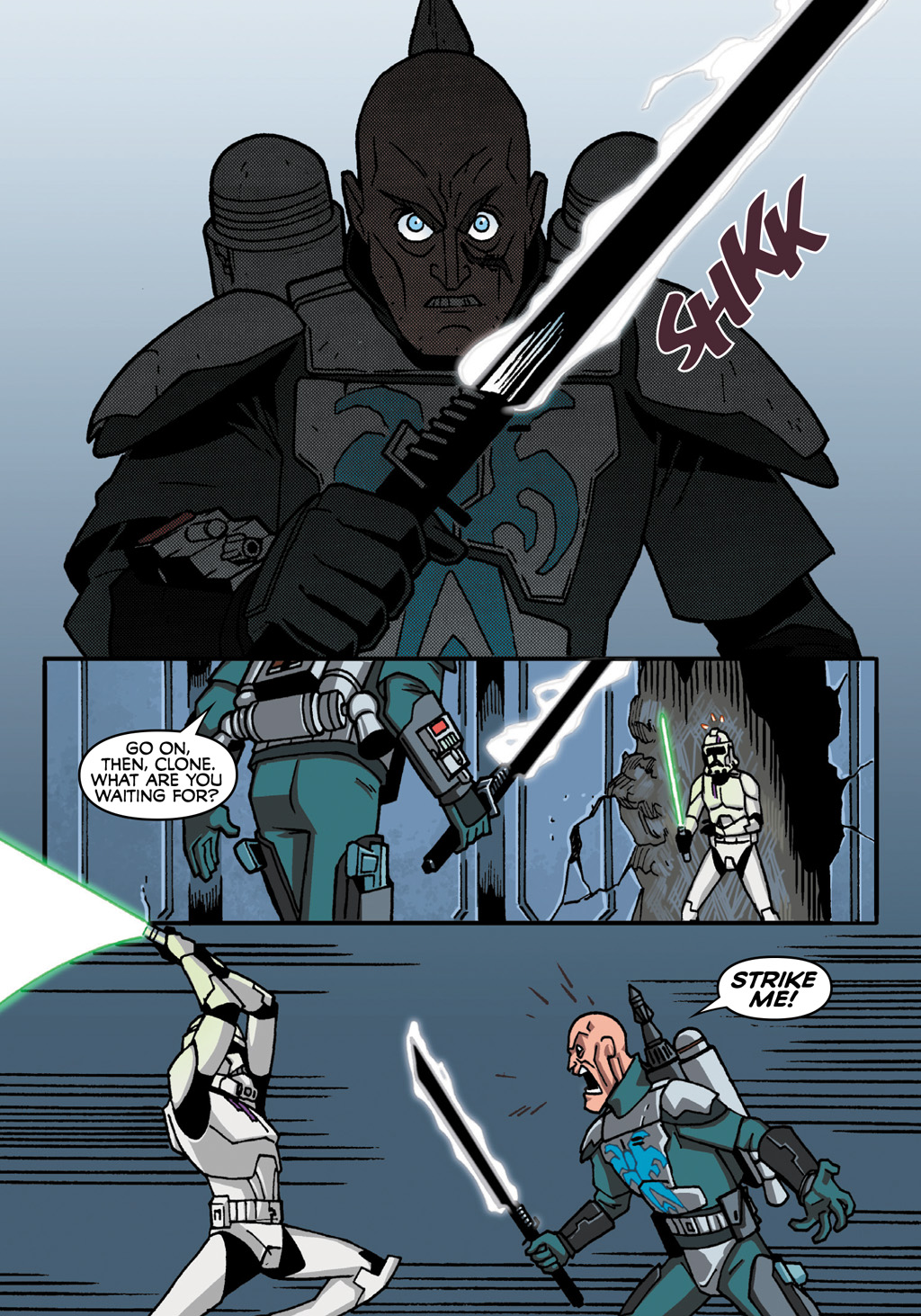 Read online Star Wars: The Clone Wars - Defenders of the Lost Temple comic -  Issue # Full - 58
