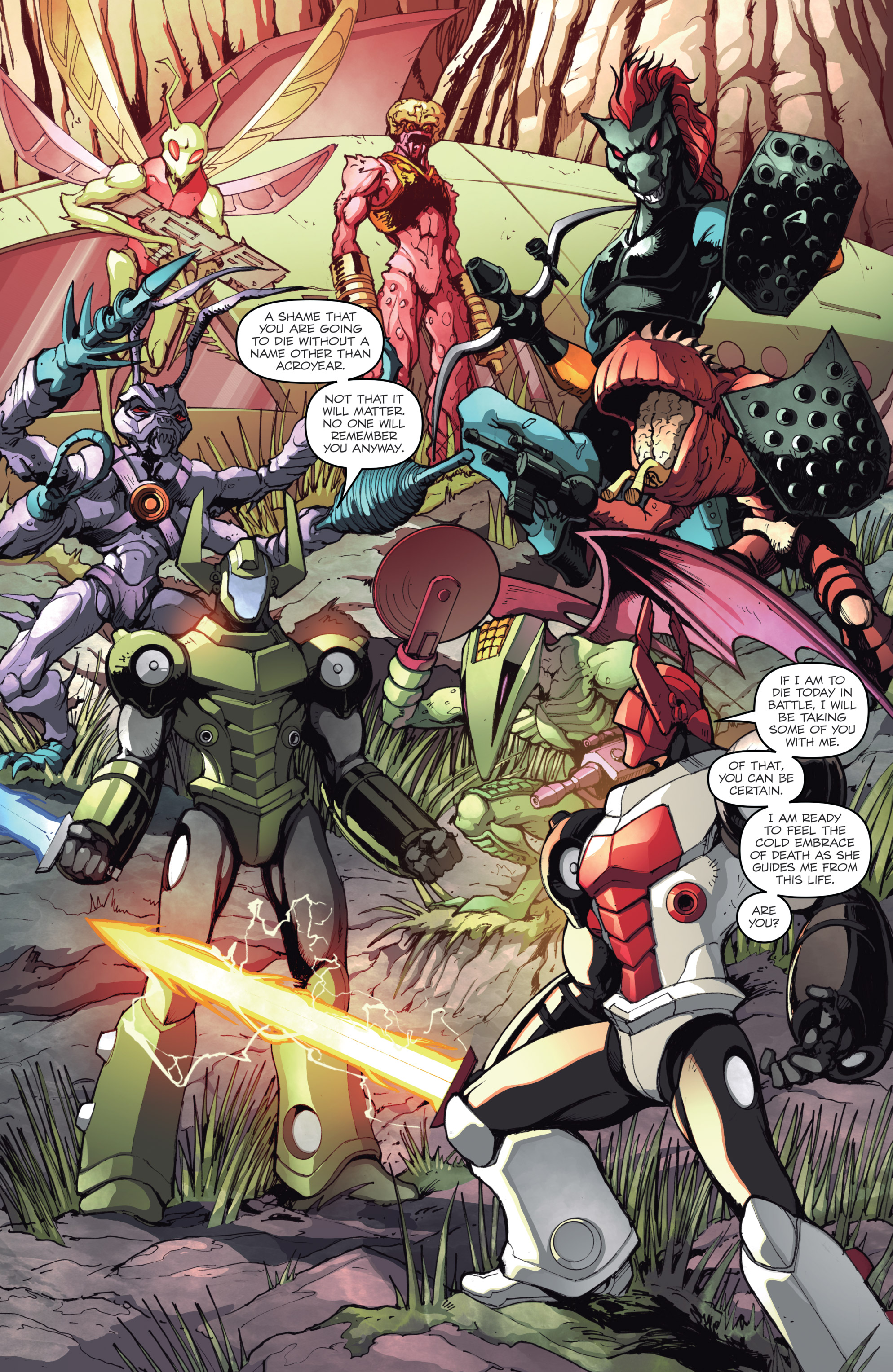 Read online Micronauts: Wrath of Karza comic -  Issue #2 - 11