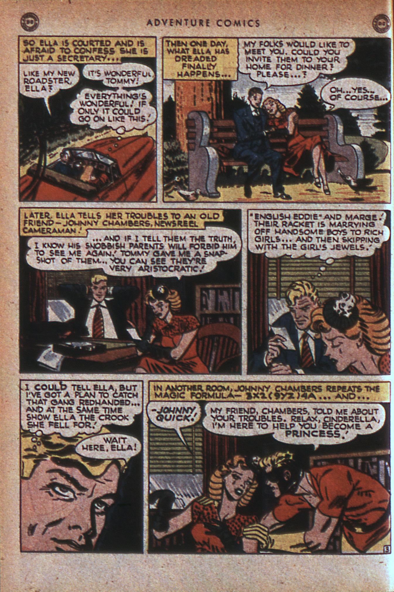 Read online Adventure Comics (1938) comic -  Issue #124 - 43
