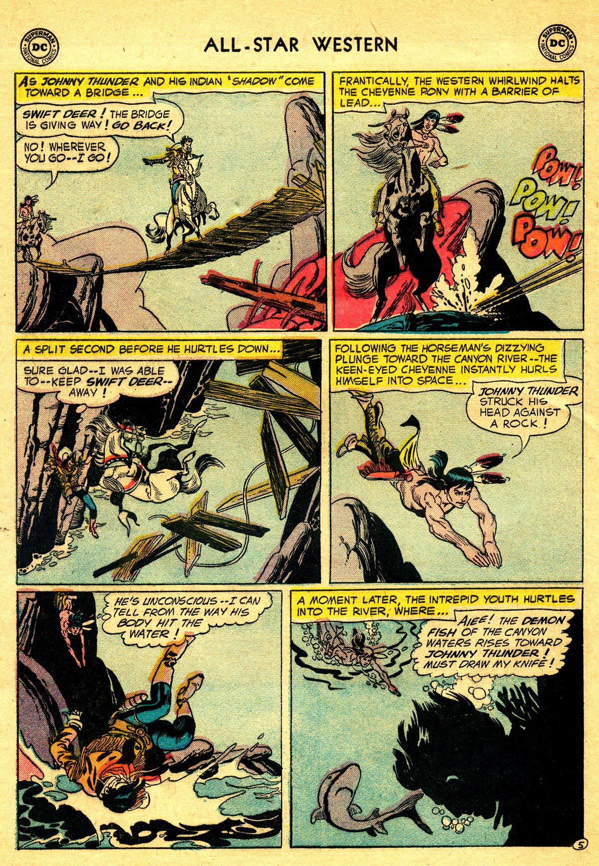 Read online All-Star Western (1951) comic -  Issue #93 - 32