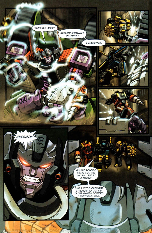 Read online Transformers Armada comic -  Issue #12 - 10