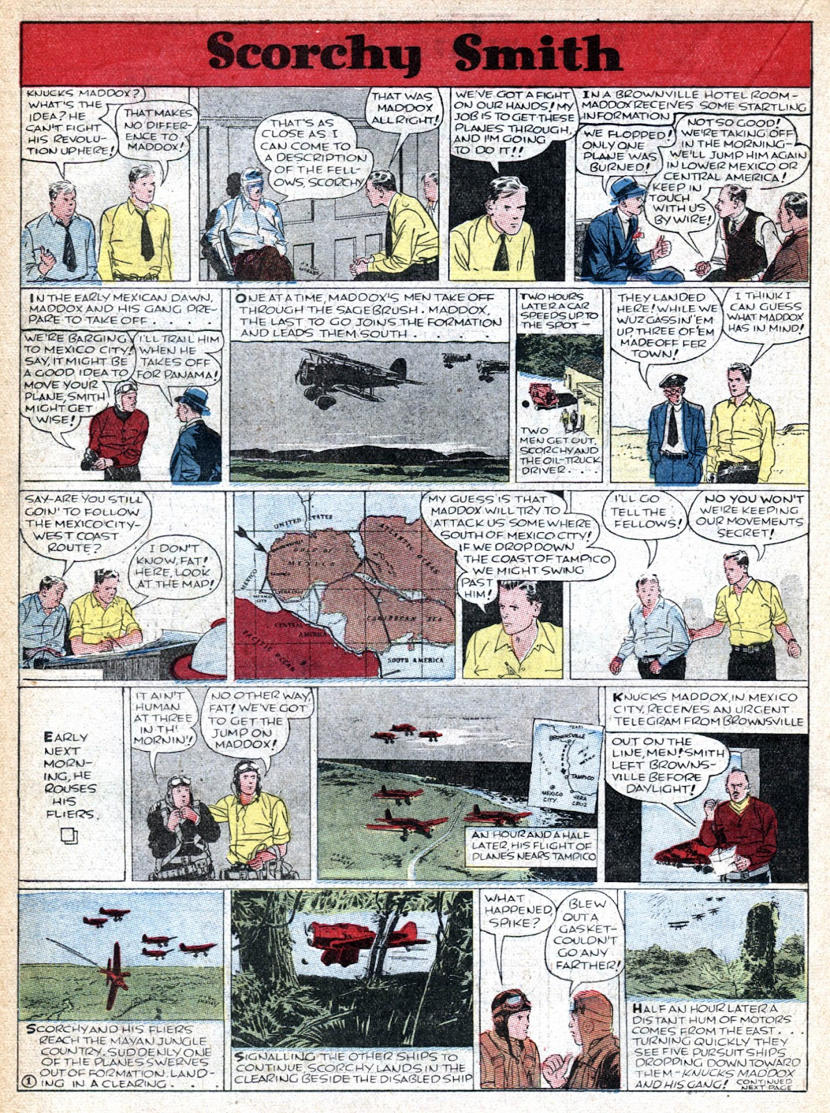 Read online Famous Funnies comic -  Issue #36 - 28
