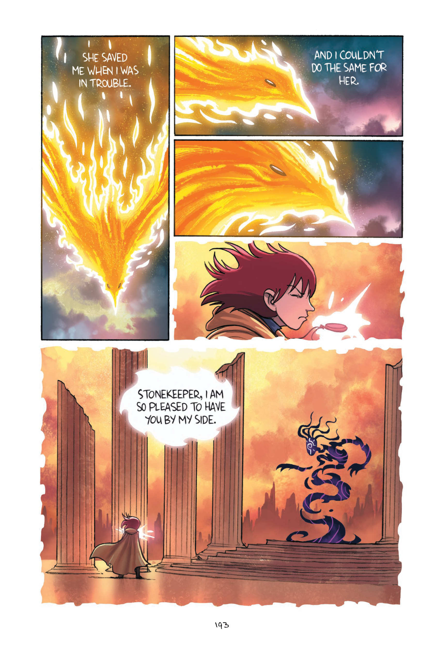 Read online Amulet comic -  Issue #7 - 191
