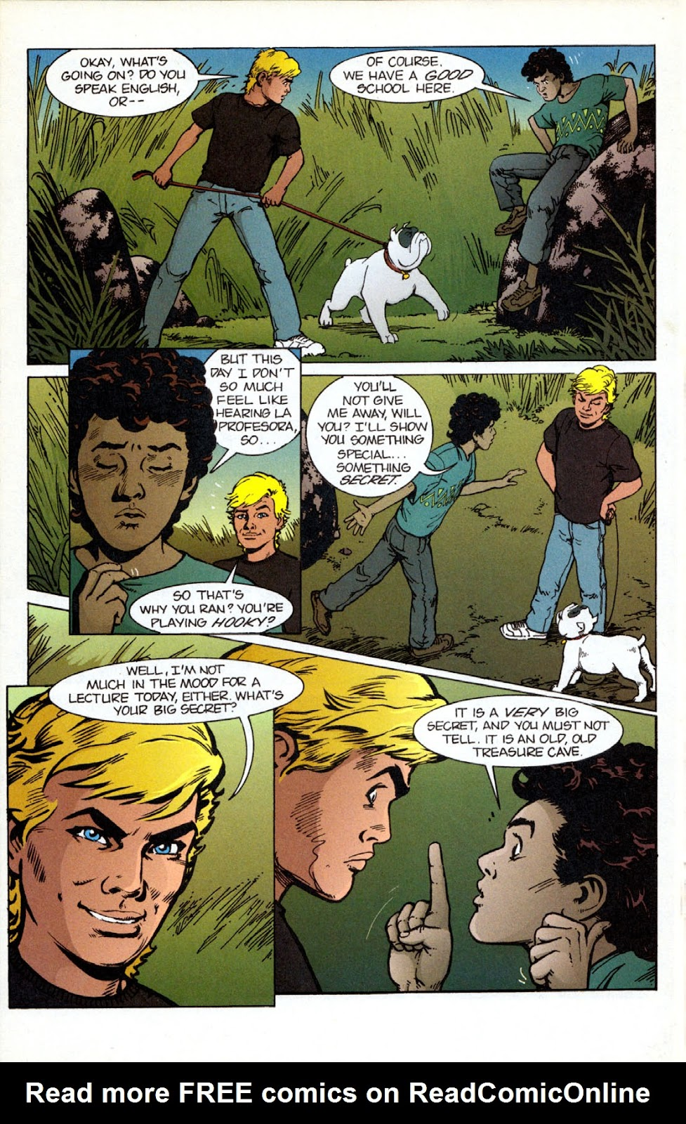 Read online The Real Adventures of Jonny Quest comic -  Issue #12 - 16