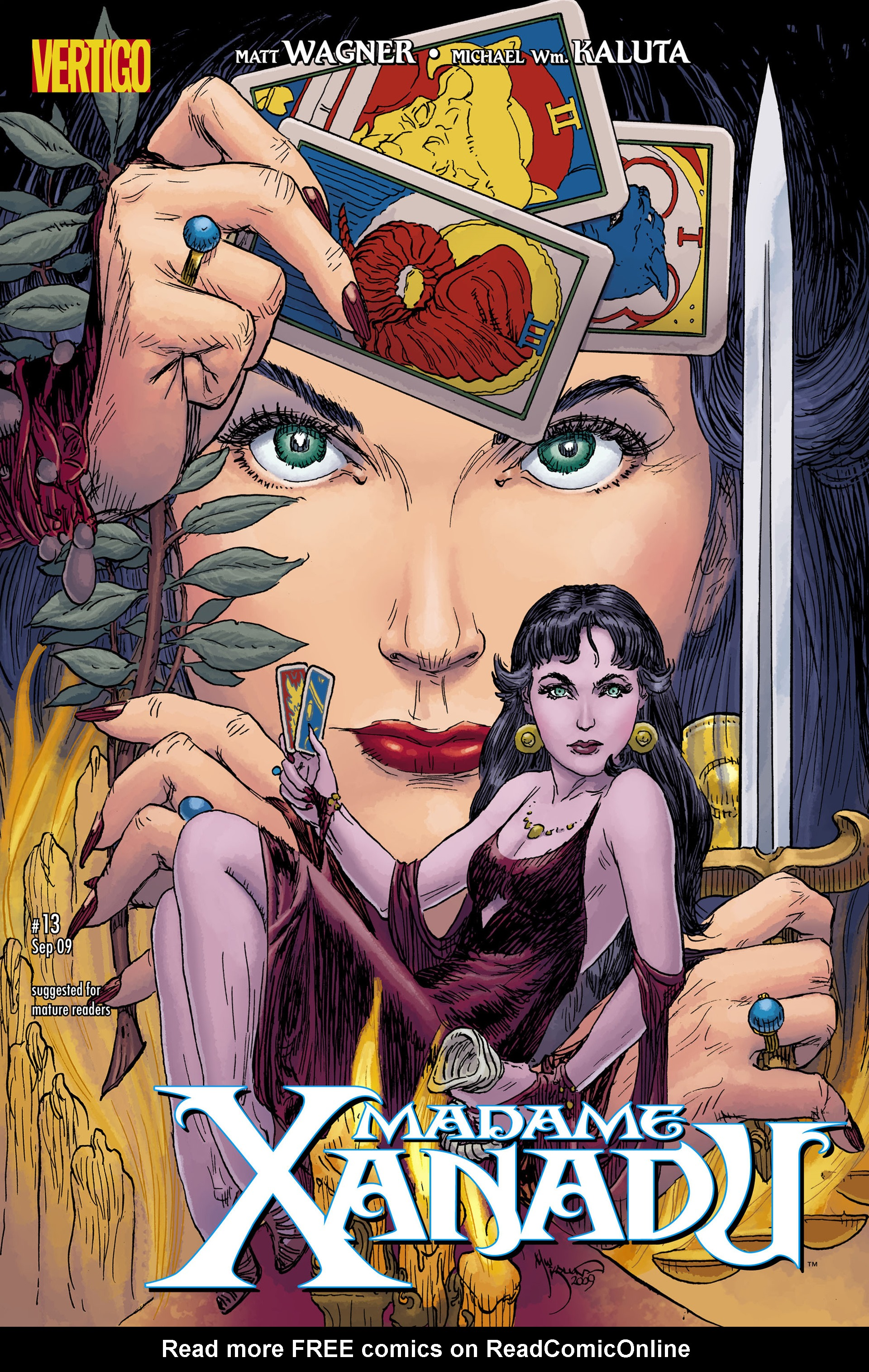 Madame Xanadu issue 13 - Page 1