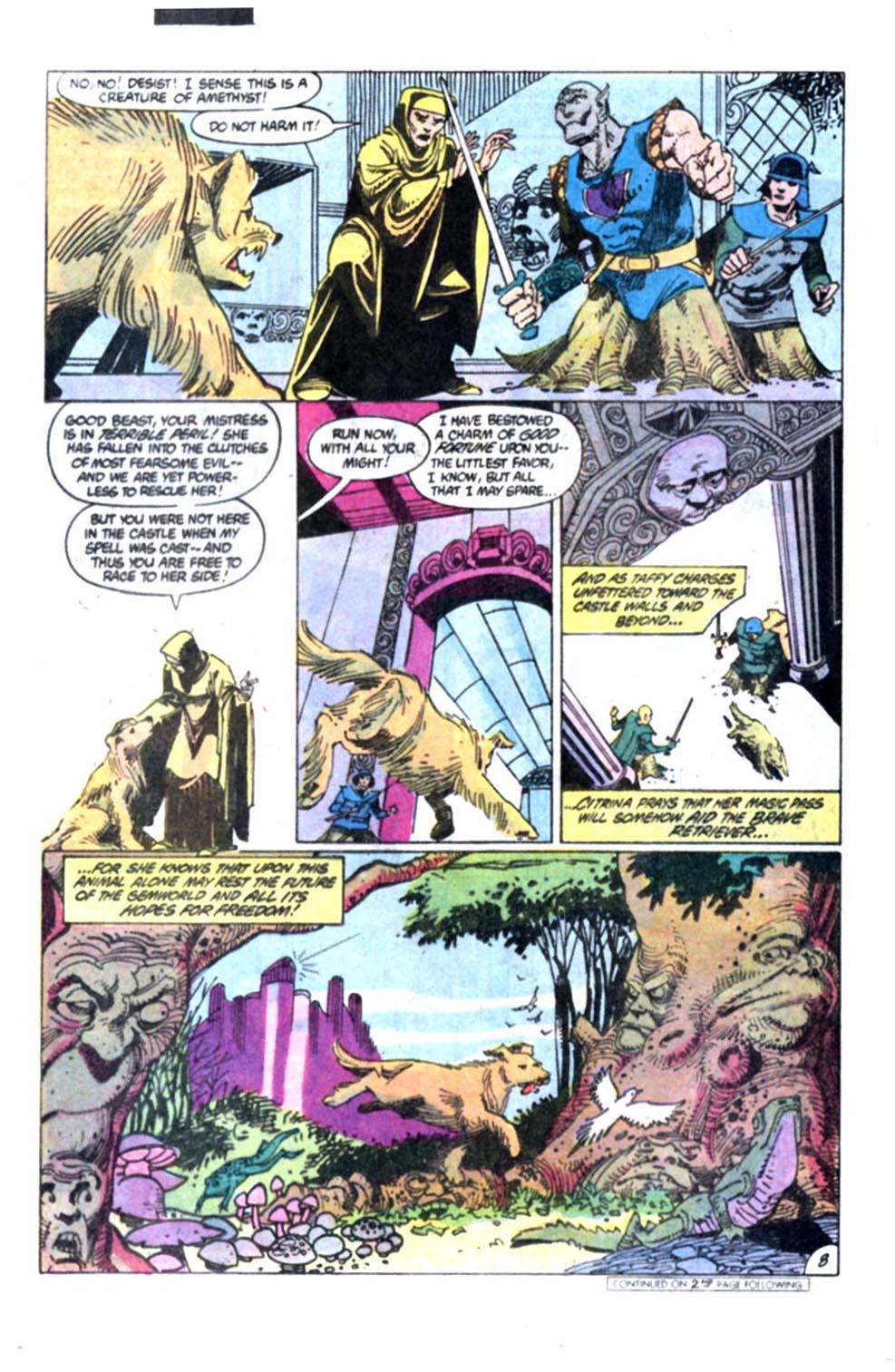 Read online Amethyst, Princess of Gemworld comic -  Issue #2 - 9