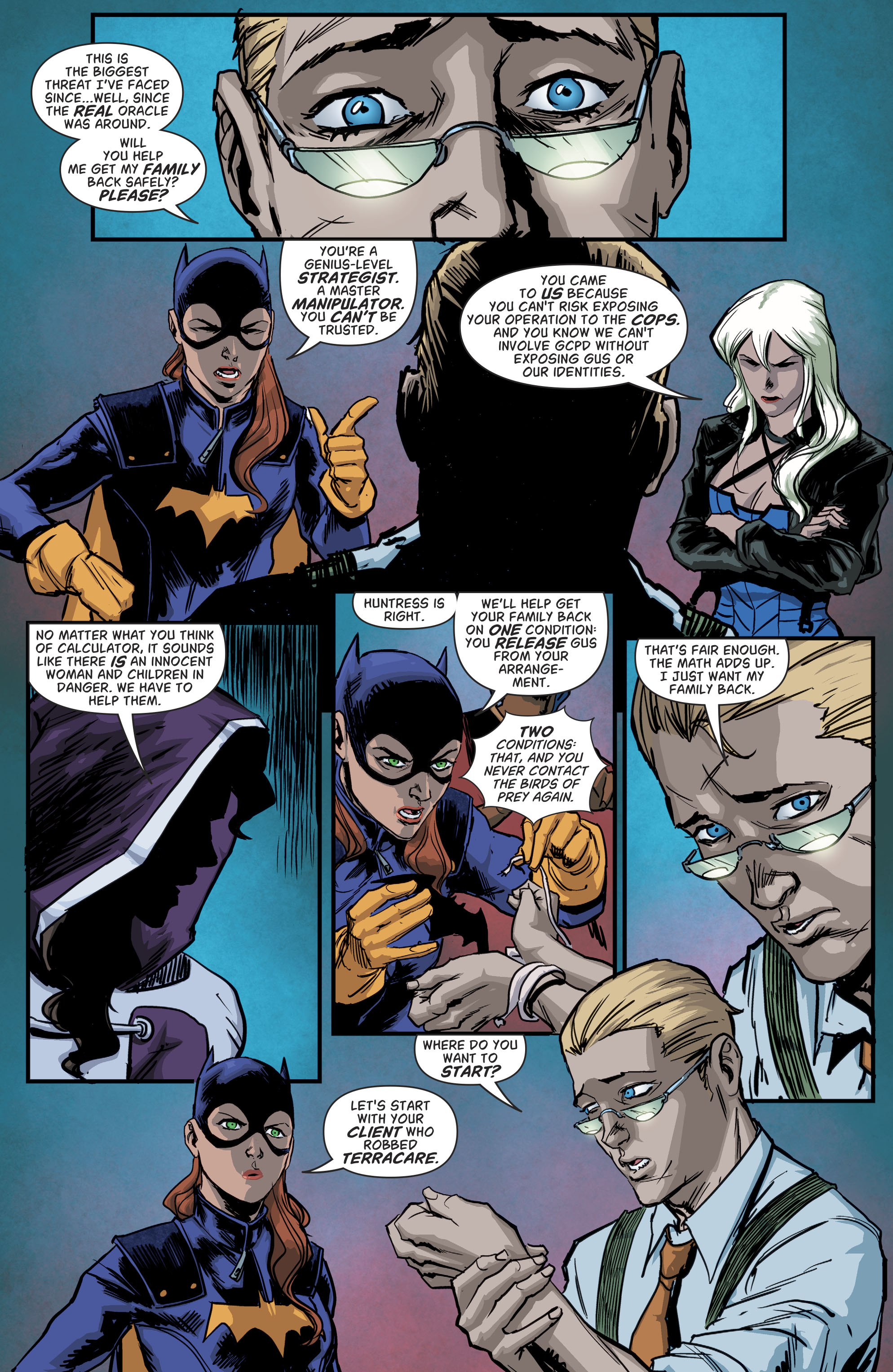 Read online Batgirl and the Birds of Prey comic -  Issue #11 - 21
