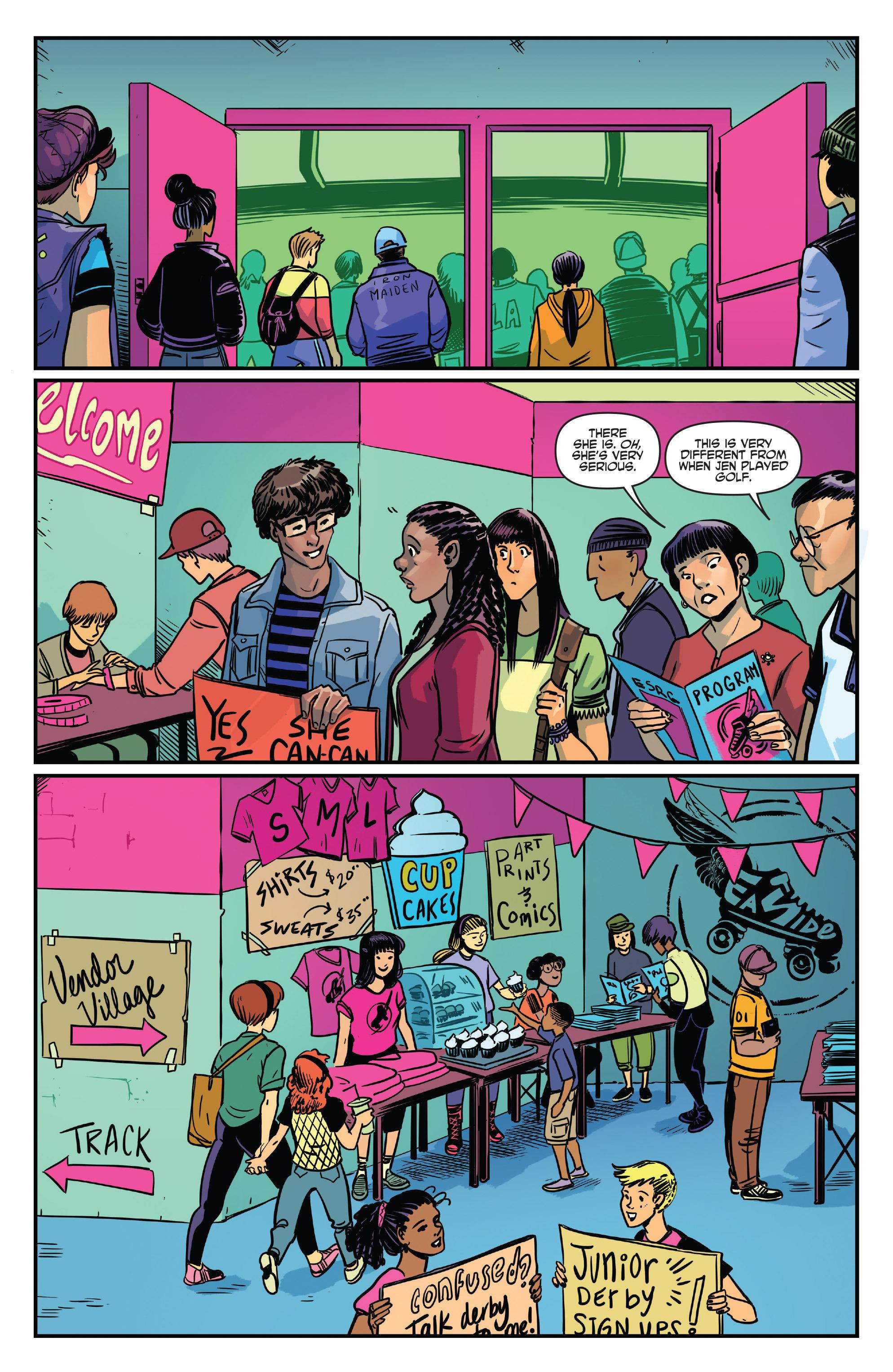 Read online Slam! comic -  Issue #4 - 12