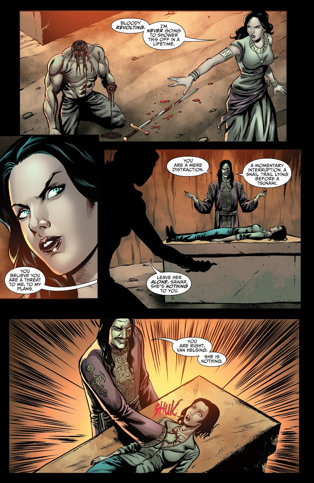 Read online Van Helsing: Sword of Heaven comic -  Issue #5 - 8