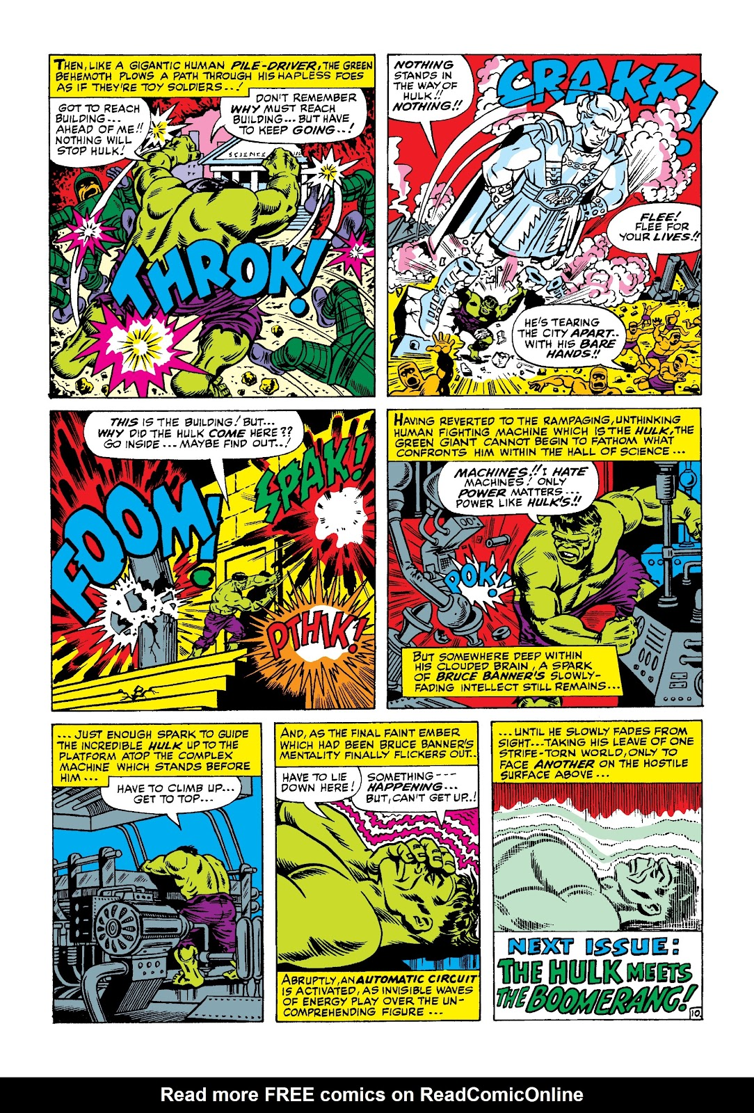 Read online Marvel Masterworks: The Incredible Hulk comic -  Issue # TPB 3 (Part 1) - 28