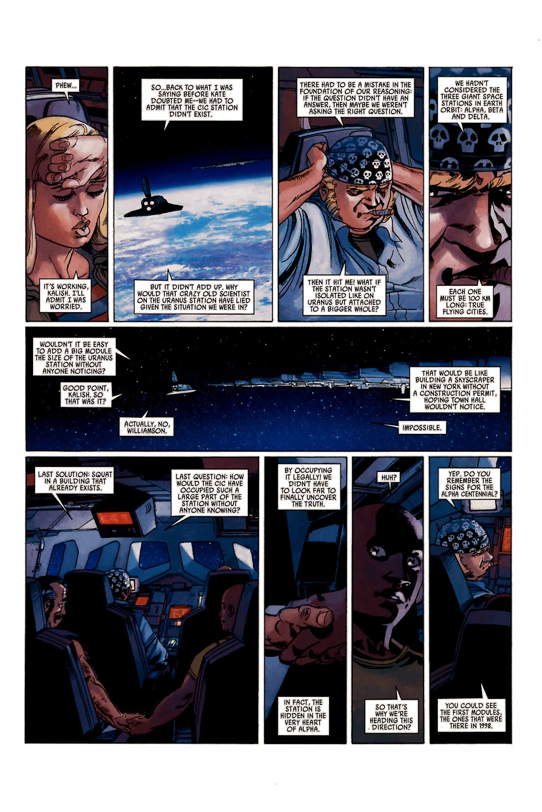 Read online Universal War One: Revelations comic -  Issue #1 - 38