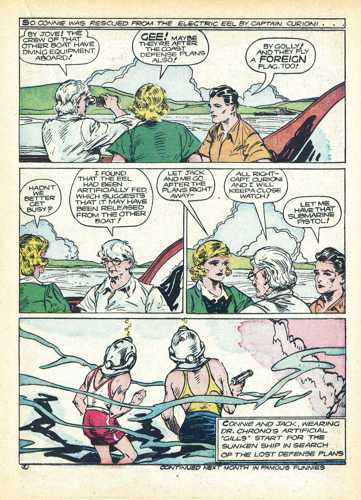 Read online Famous Funnies comic -  Issue #95 - 23