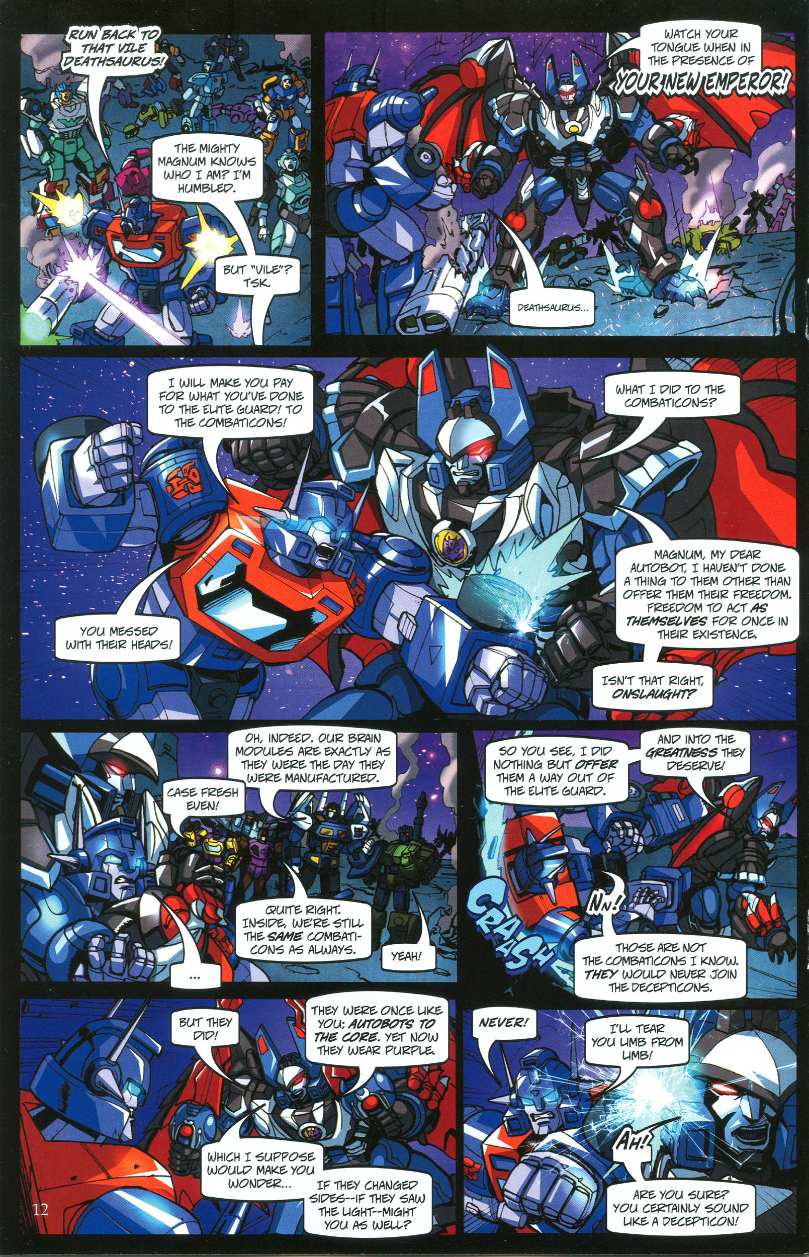 Read online Transformers: Collectors' Club comic -  Issue #39 - 12
