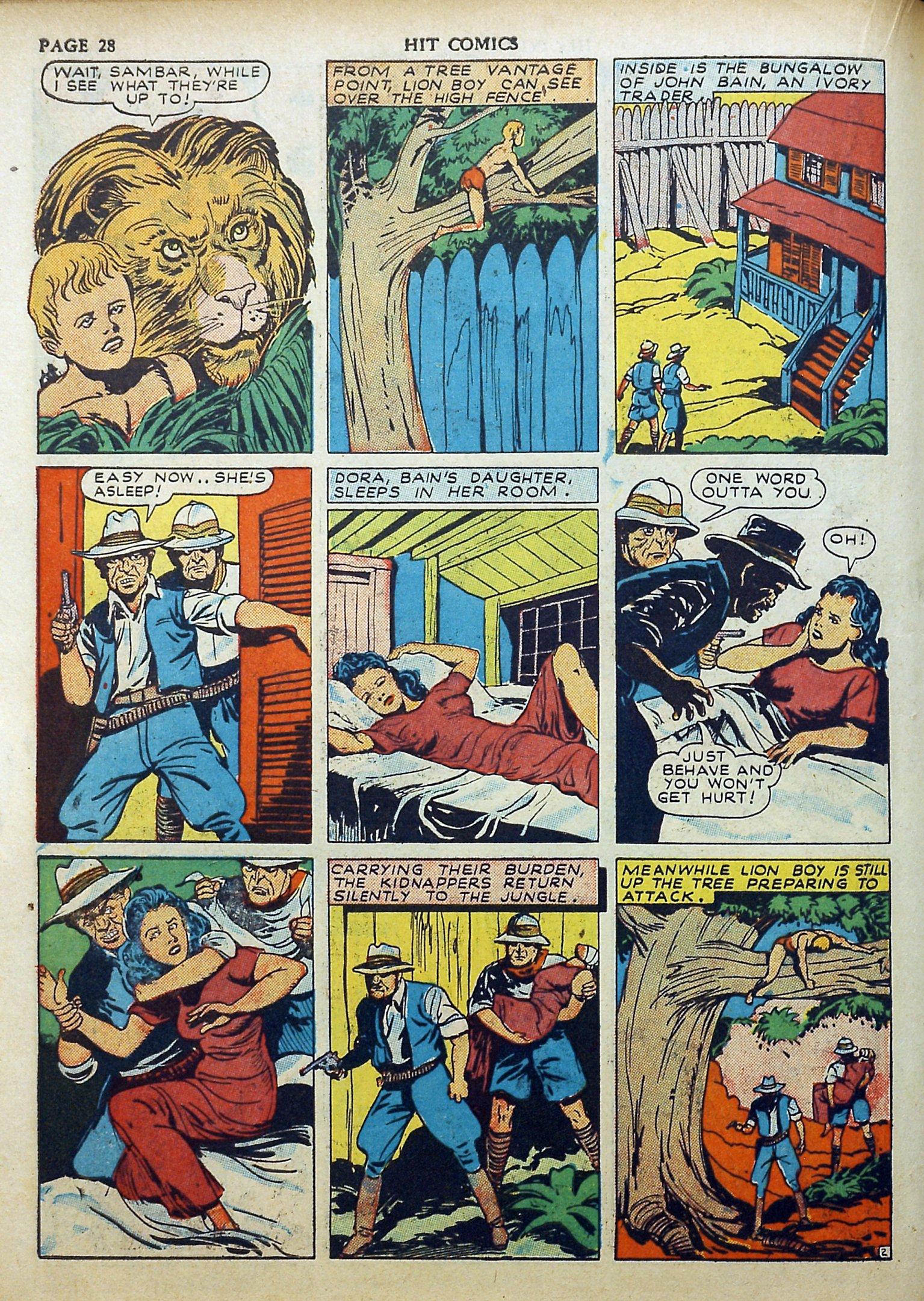 Read online Hit Comics comic -  Issue #17 - 30