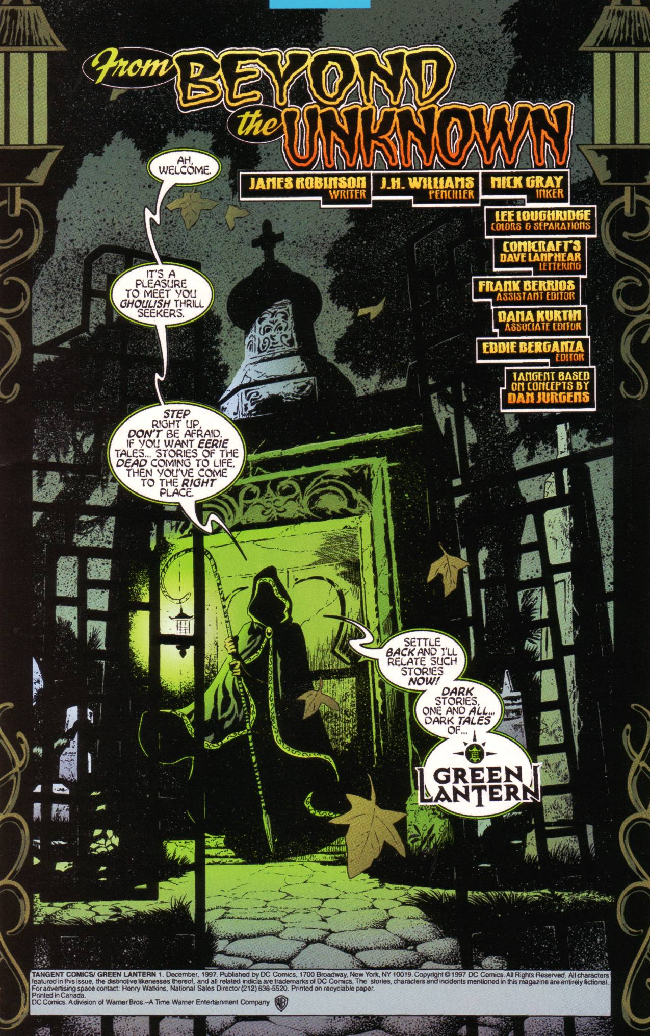 Read online Tangent Comics/ Green Lantern comic -  Issue # Full - 2