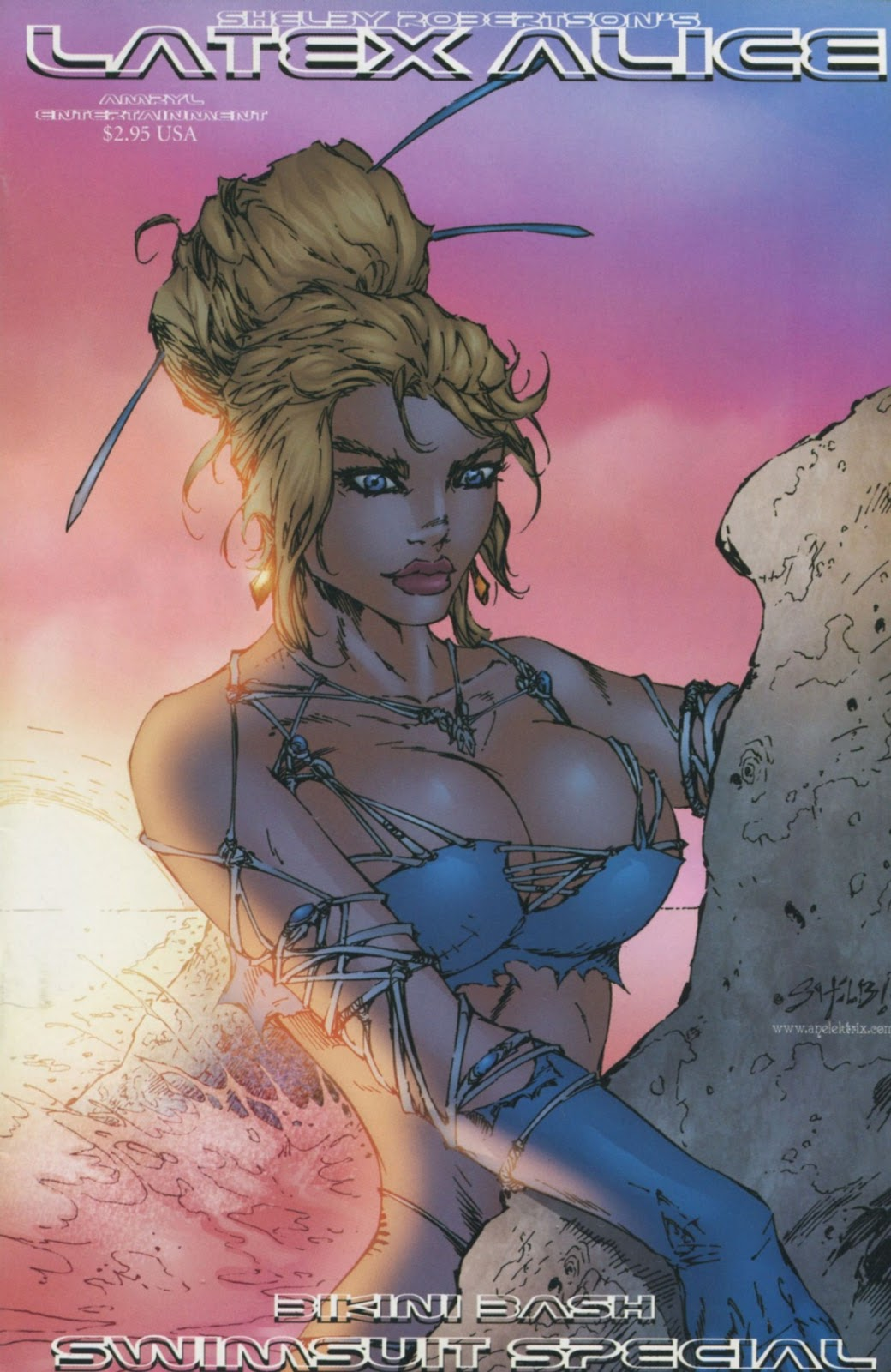Read online Latex Alice - Bikini Bash Swimsuit Special comic -  Issue # Full - 1