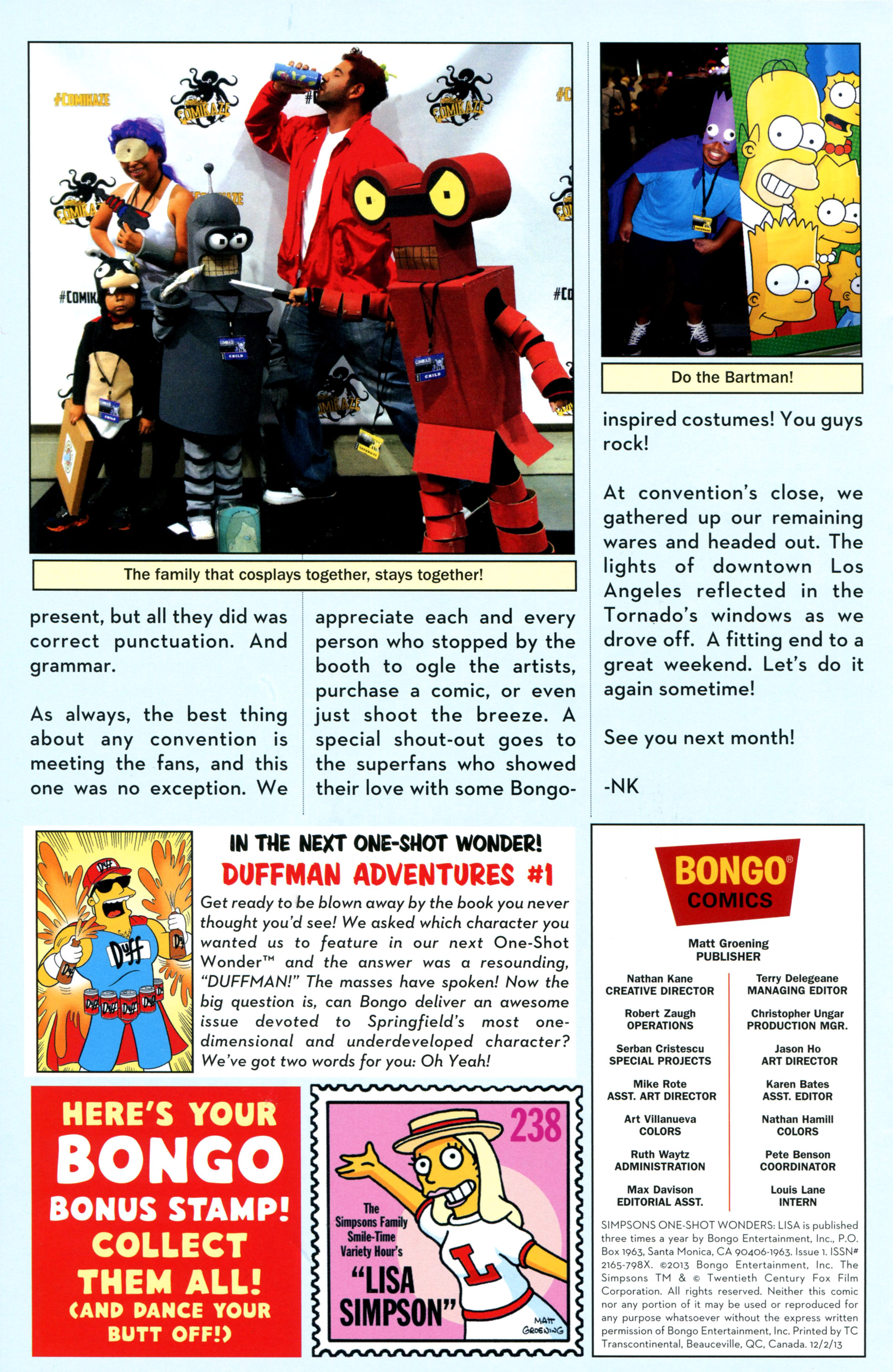 Read online Simpsons One-Shot Wonders: Lisa comic -  Issue # Full - 29