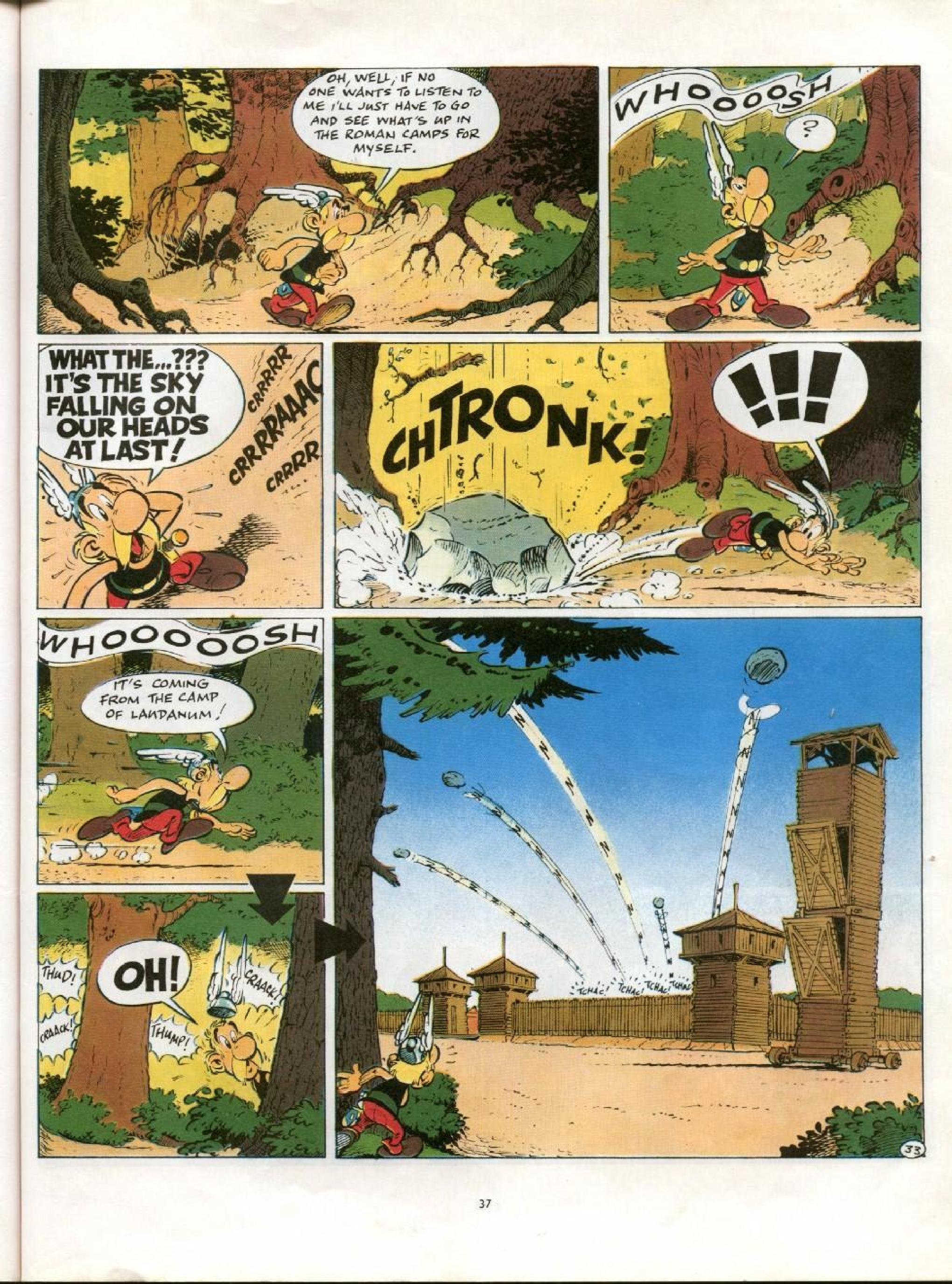 Read online Asterix comic -  Issue #21 - 34
