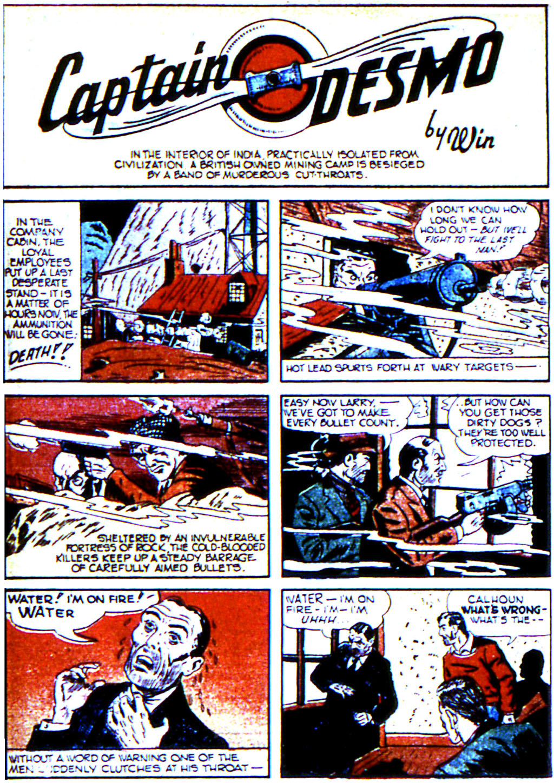 Read online Adventure Comics (1938) comic -  Issue #45 - 36