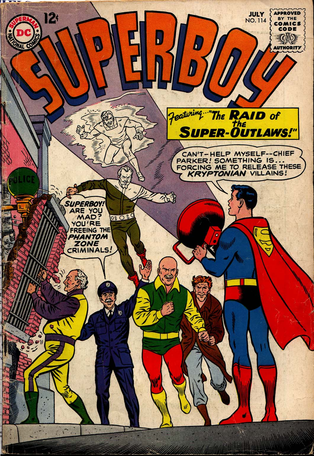 Superboy (1949) issue 114 - Page 1