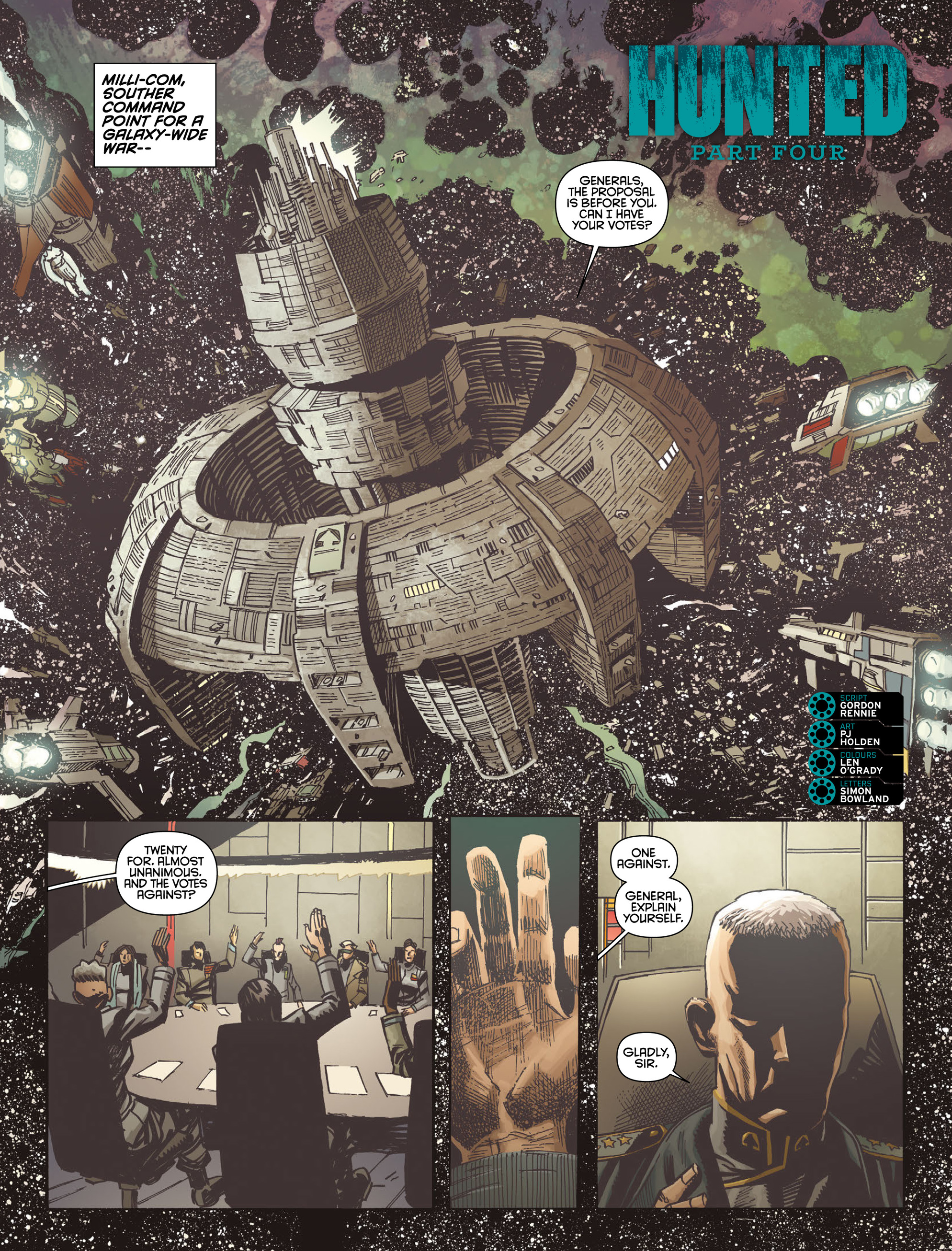 Read online 2000 AD comic -  Issue #2004 - 15
