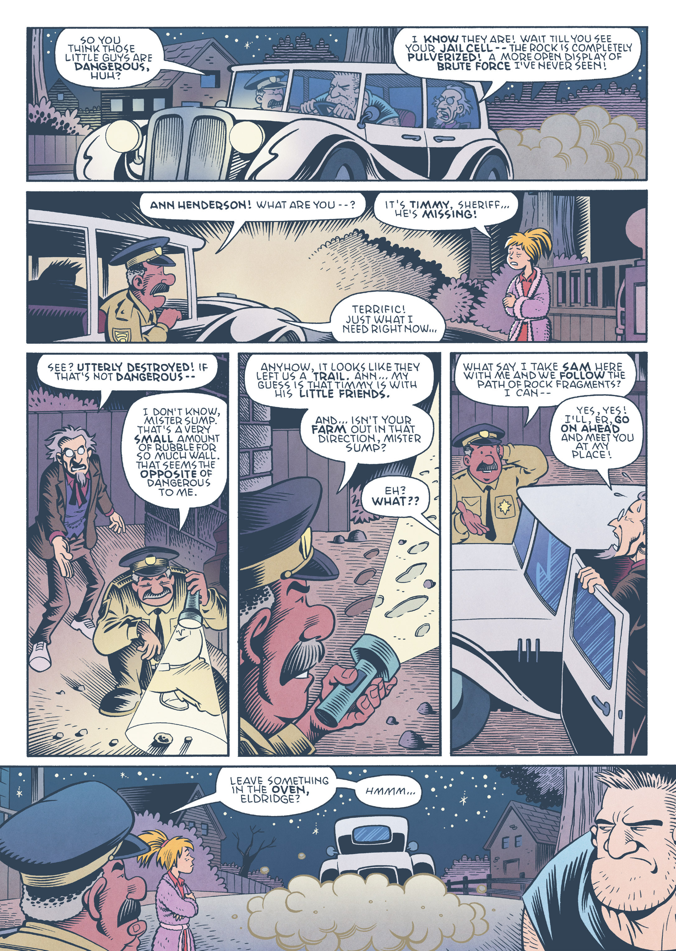 Read online Jim Henson's The Musical Monsters of Turkey Hollow comic -  Issue # Full - 67