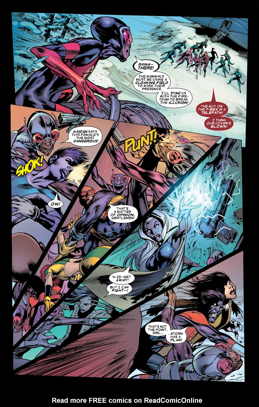 Uncanny X-Men (1963) issue 456 - Page 11