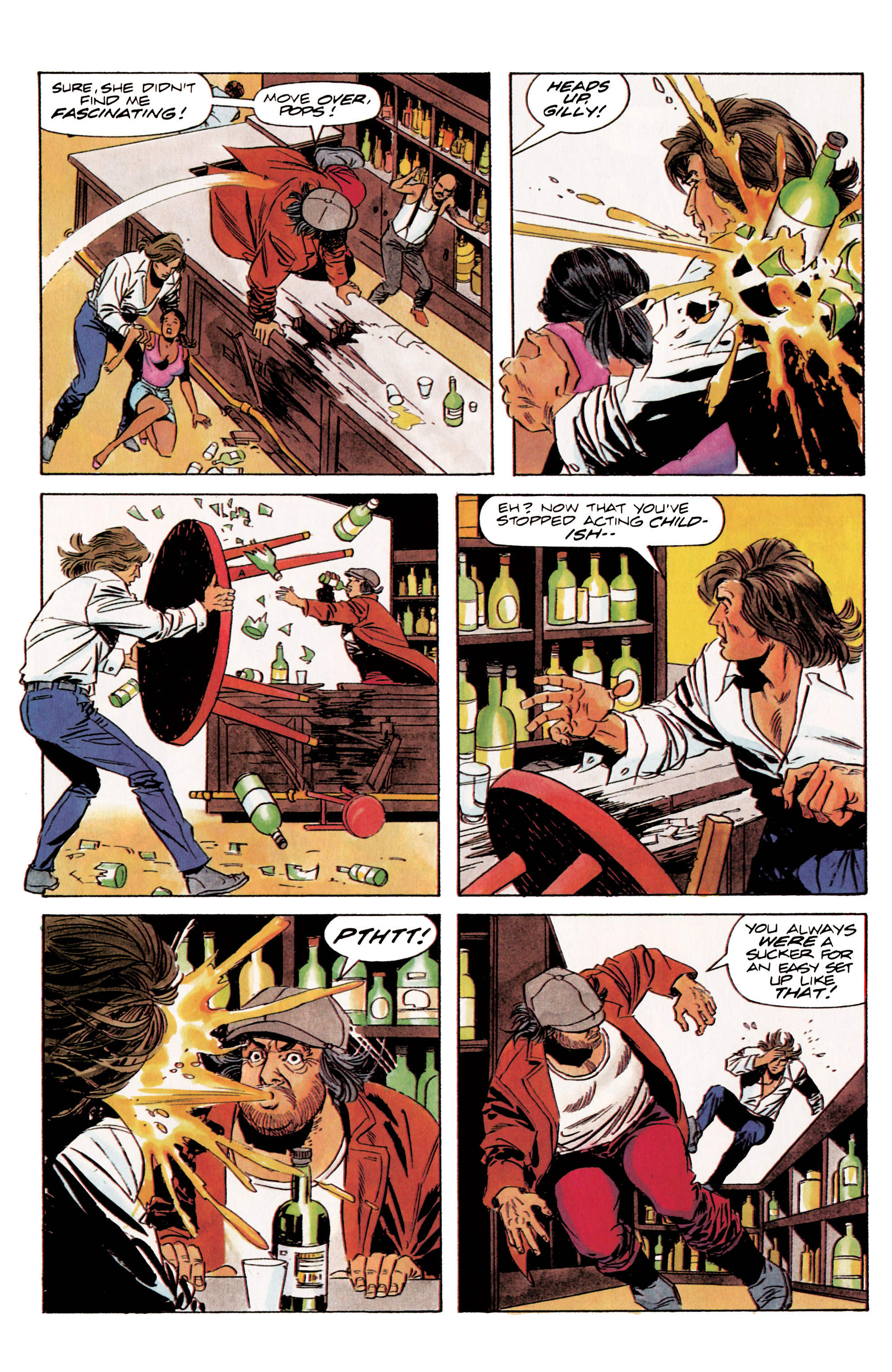 Read online Eternal Warrior (1992) comic -  Issue #3 - 18