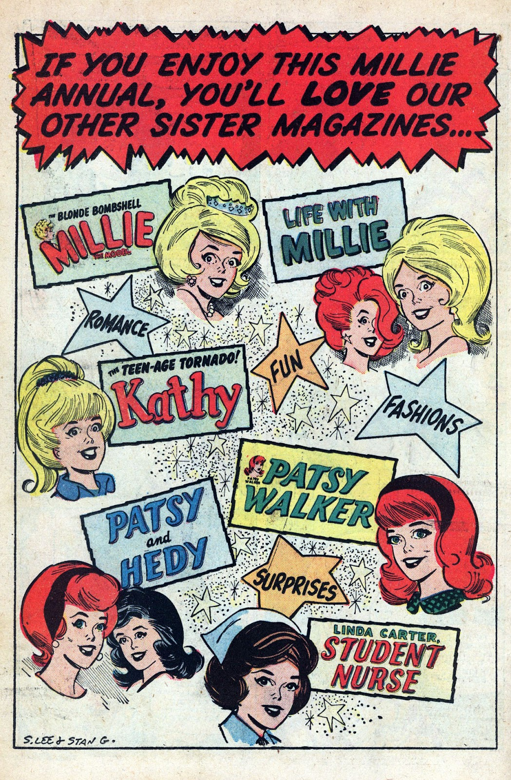 Read online Millie the Model comic -  Issue # Annual 1 - 74