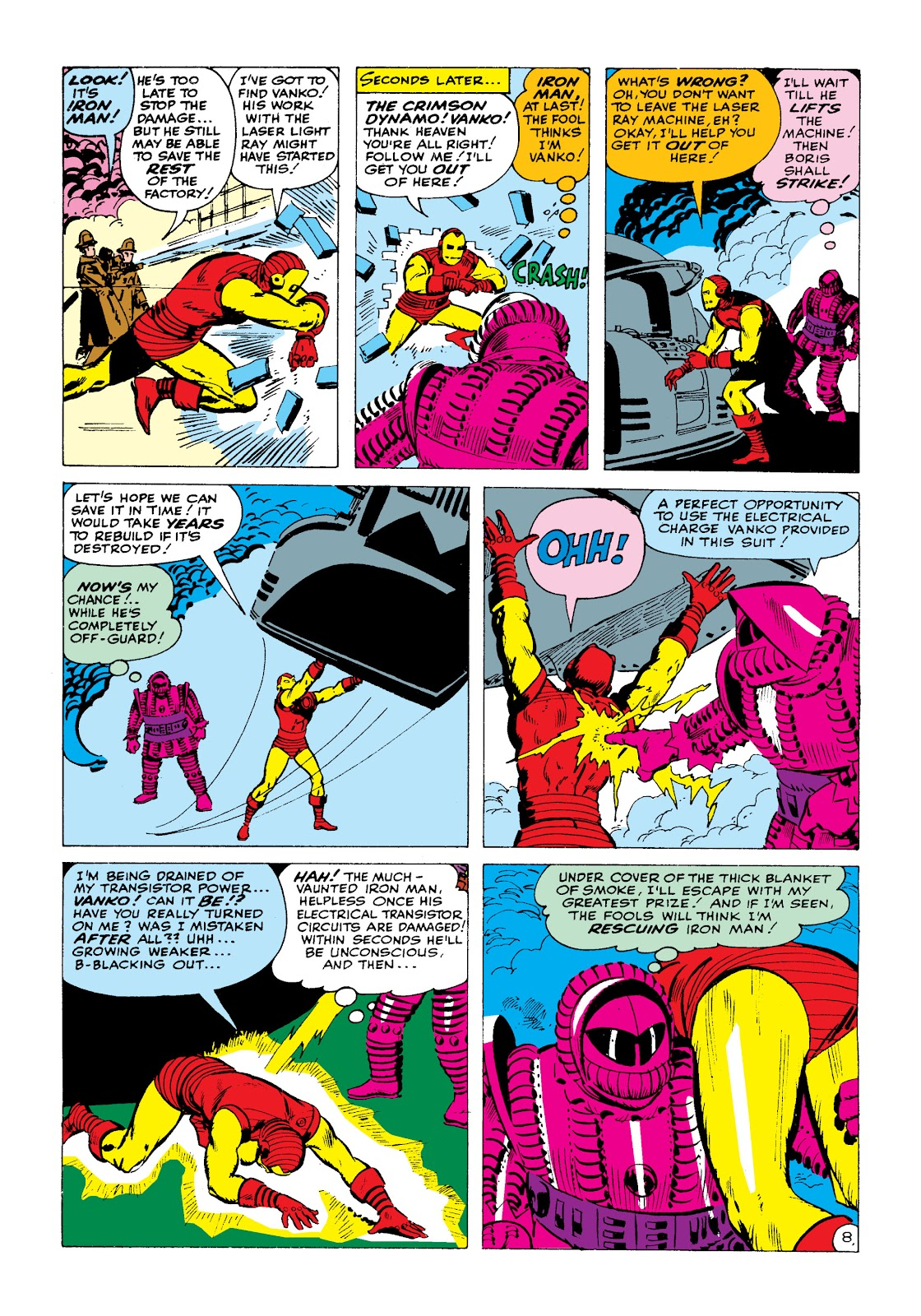 Read online Marvel Masterworks: The Invincible Iron Man comic -  Issue # TPB 2 (Part 1) - 25