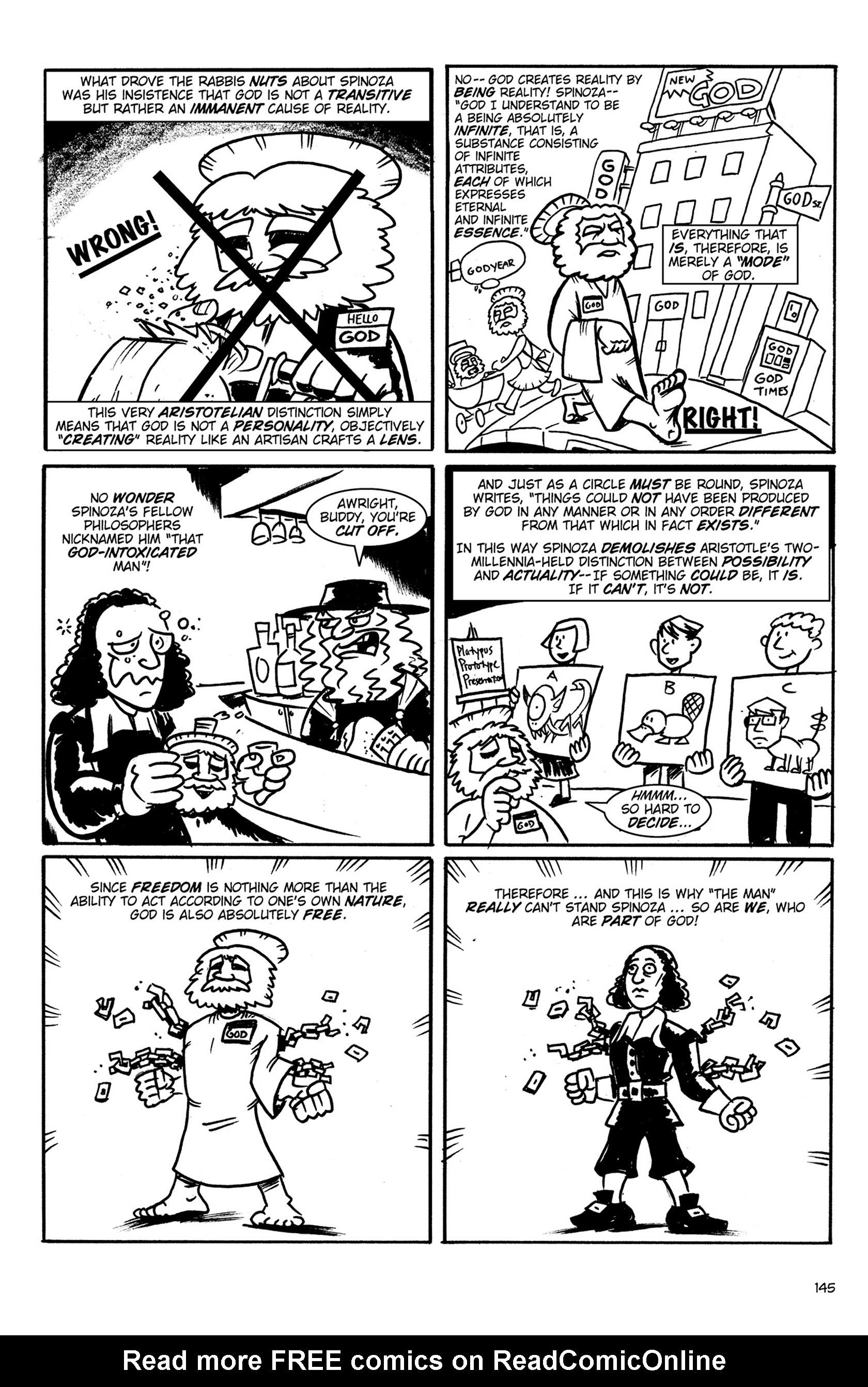 Read online Action Philosophers! comic -  Issue #Action Philosophers! TPB (Part 1) - 143