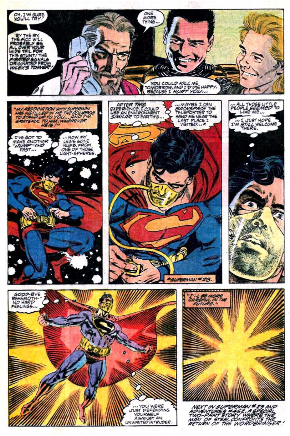 Read online Adventures of Superman (1987) comic -  Issue #451 - 23