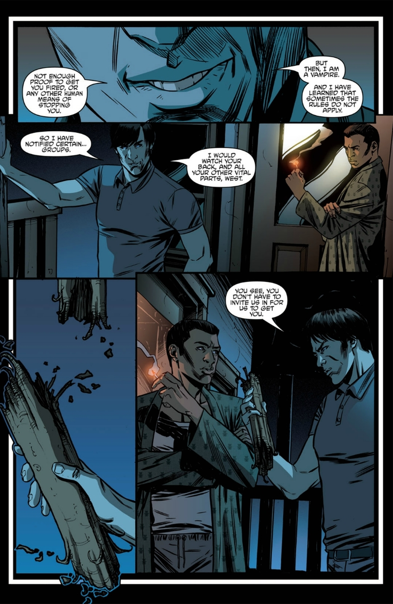 Read online True Blood: French Quarter comic -  Issue #6 - 17