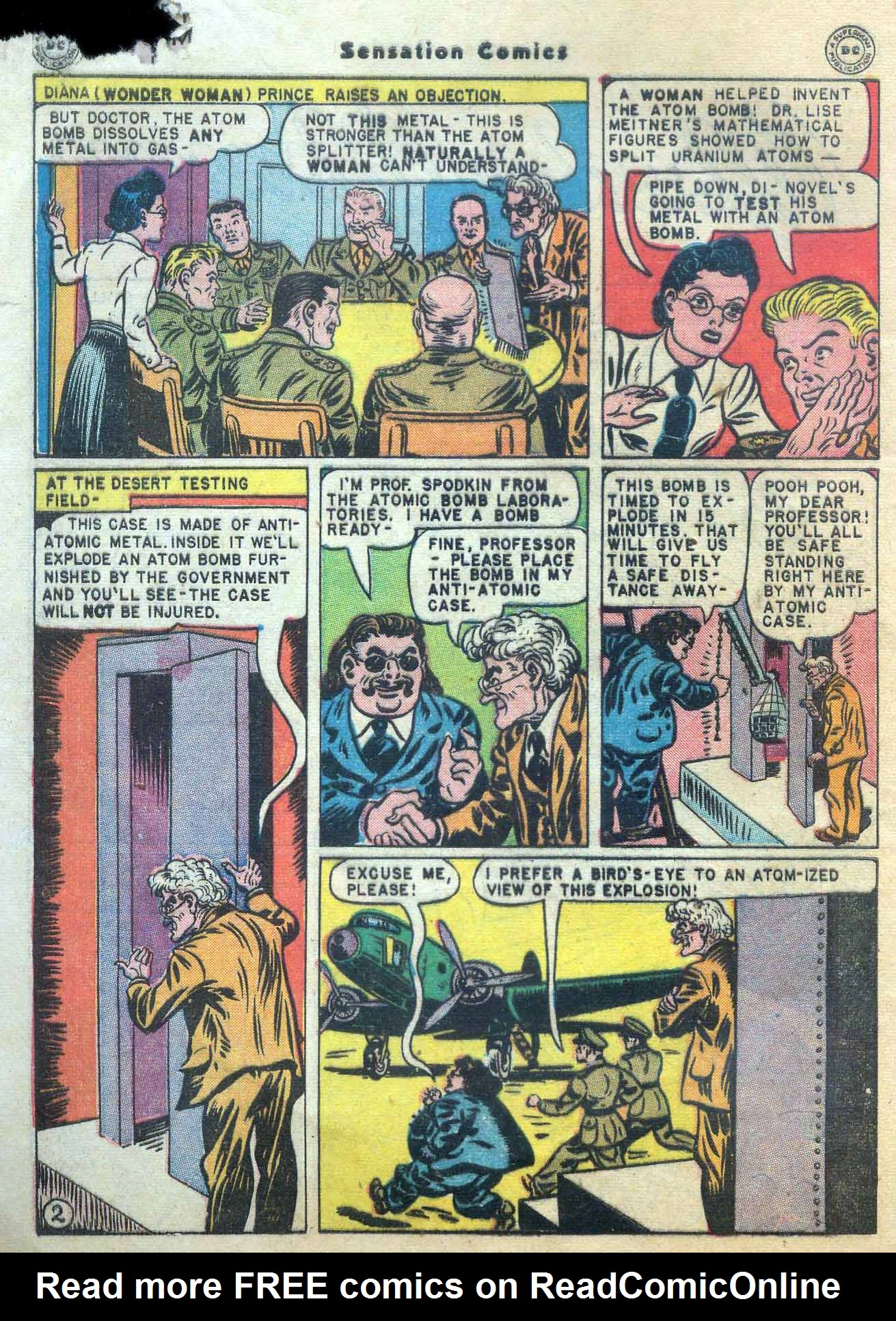 Read online Sensation (Mystery) Comics comic -  Issue #56 - 4
