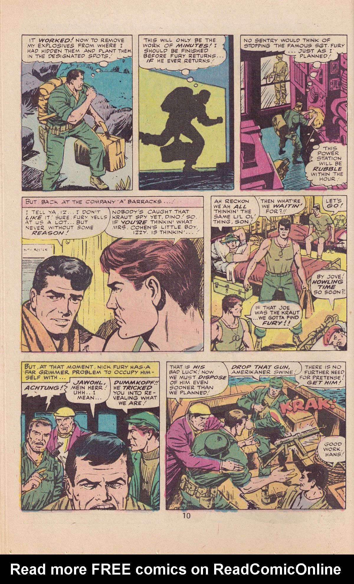 Read online Sgt. Fury comic -  Issue #127 - 12