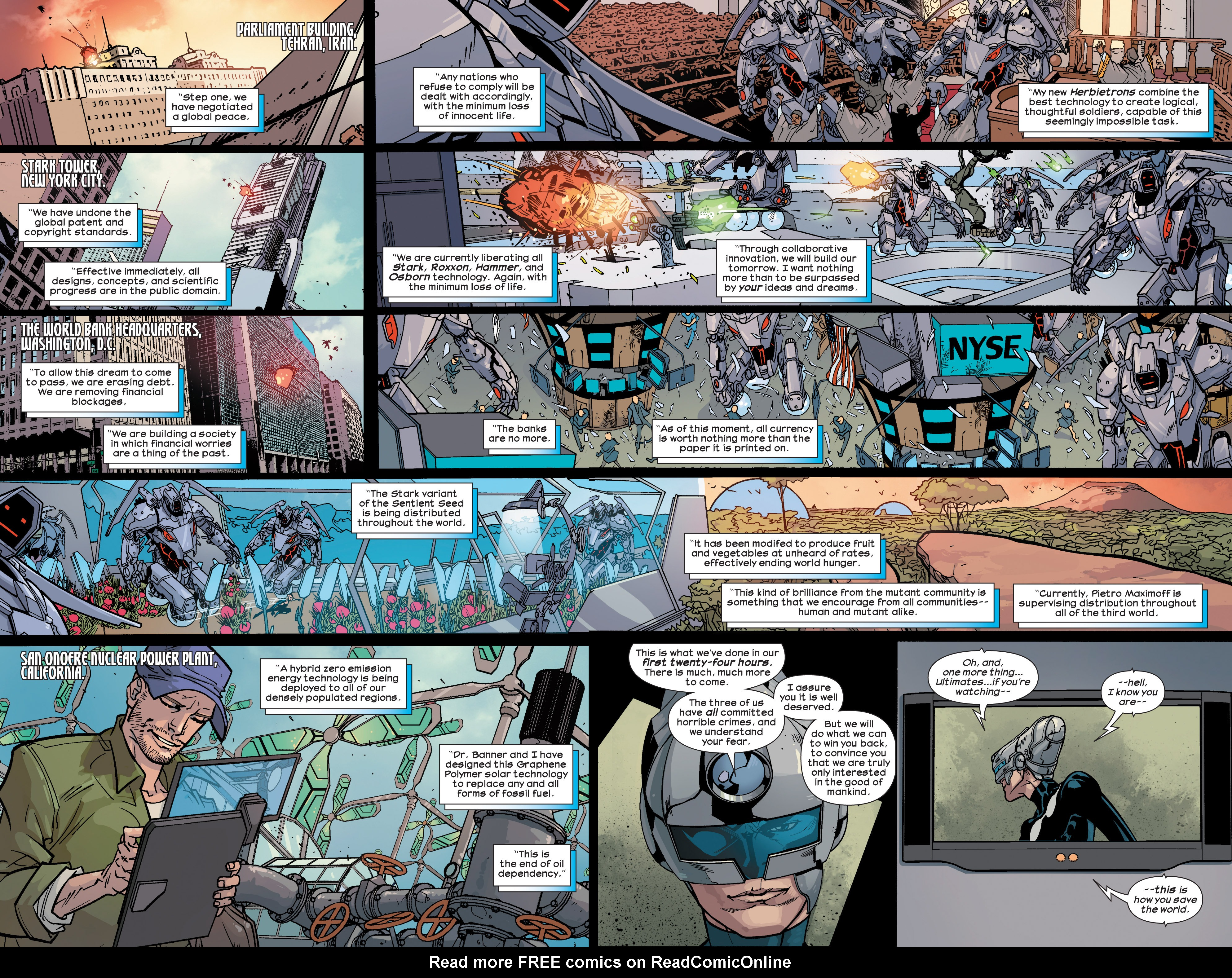 Read online Ultimate Comics Ultimates comic -  Issue #26 - 4