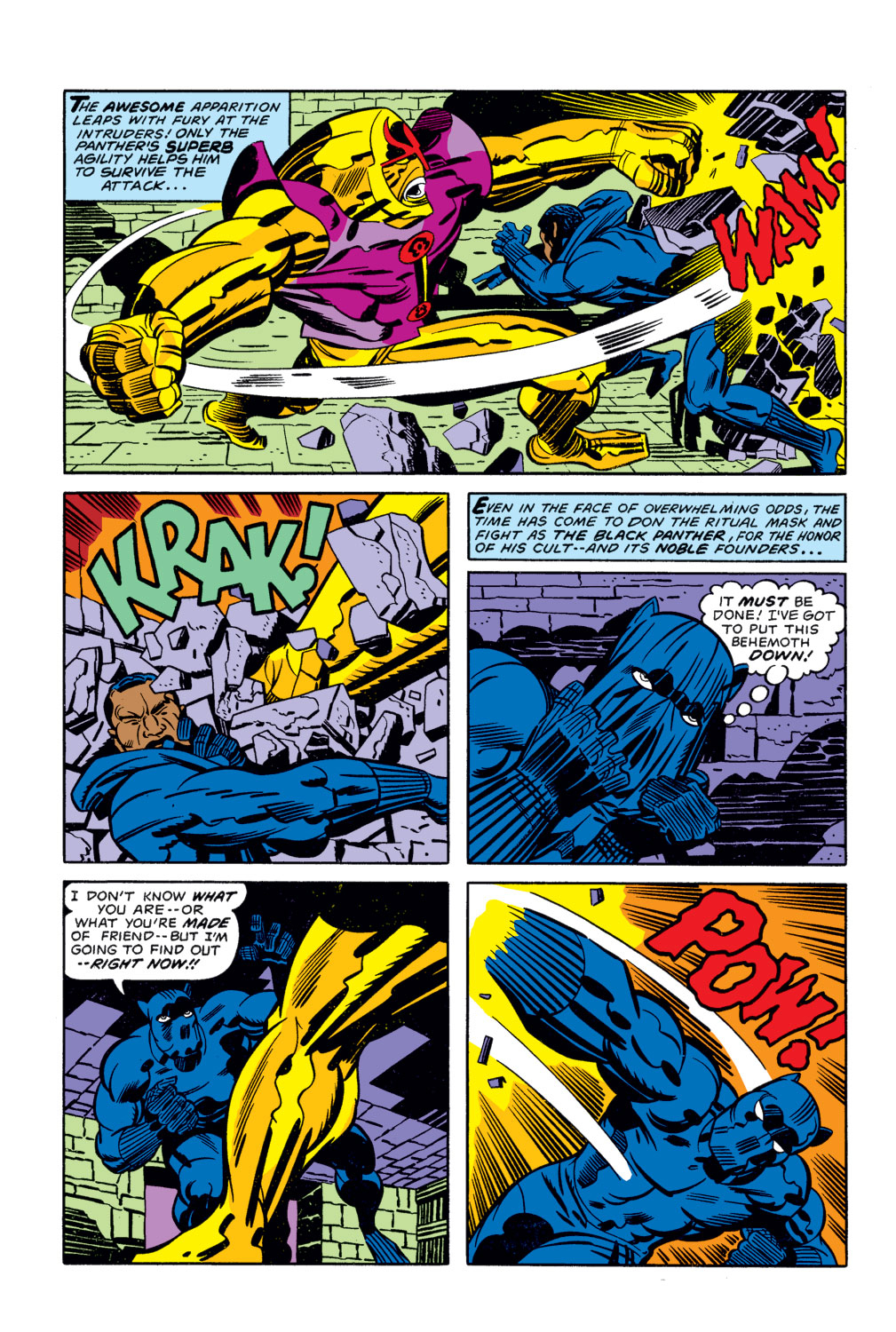 Black Panther (1977) issue 3 - Page 11