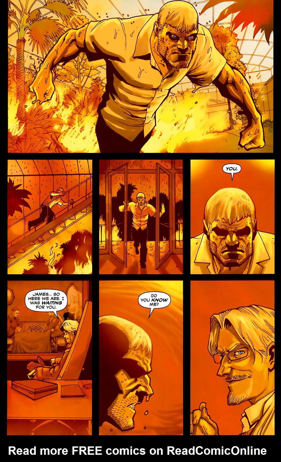 Read online Lazarus (2007) comic -  Issue #3 - 14