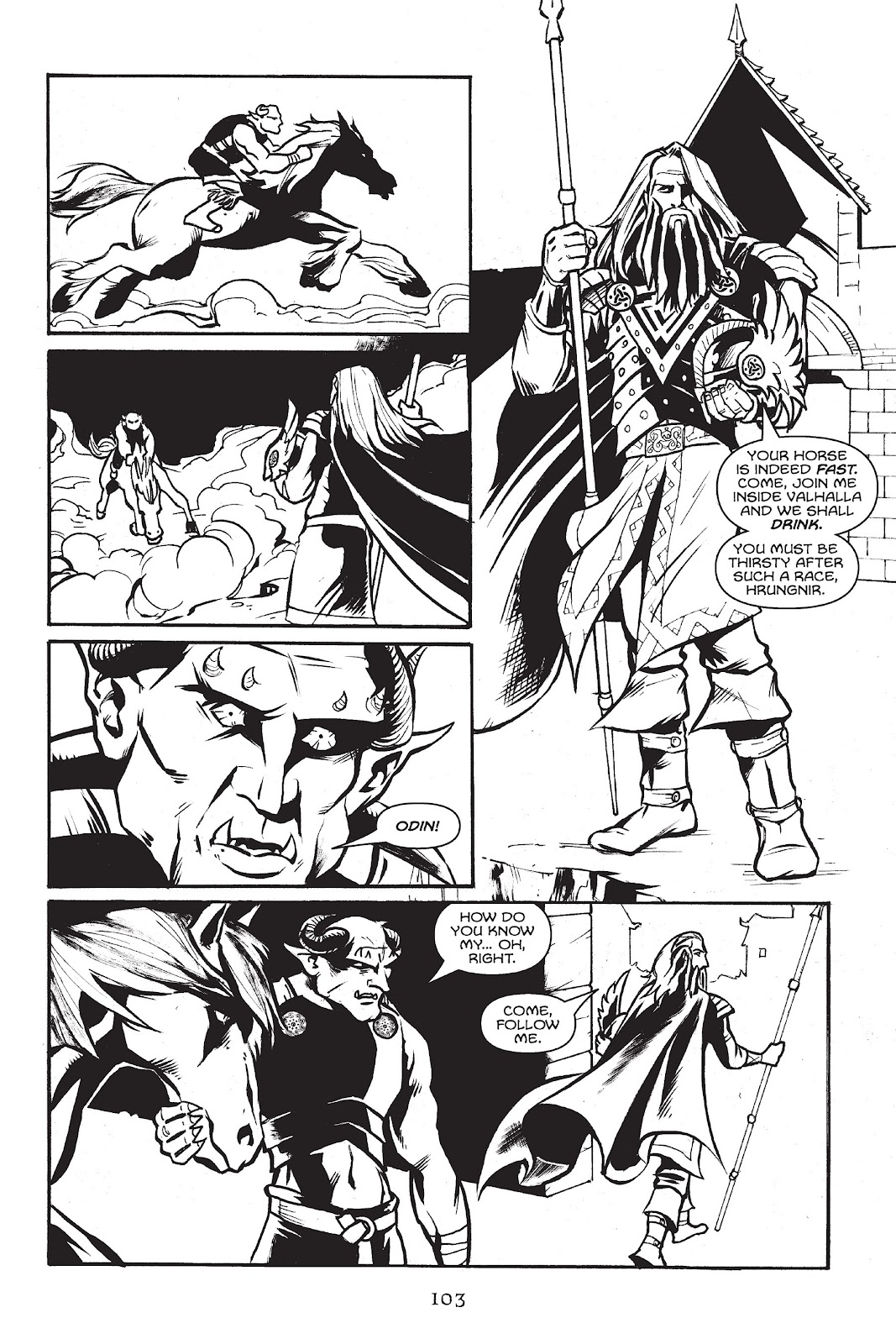 Read online Gods of Asgard comic -  Issue # TPB (Part 2) - 5
