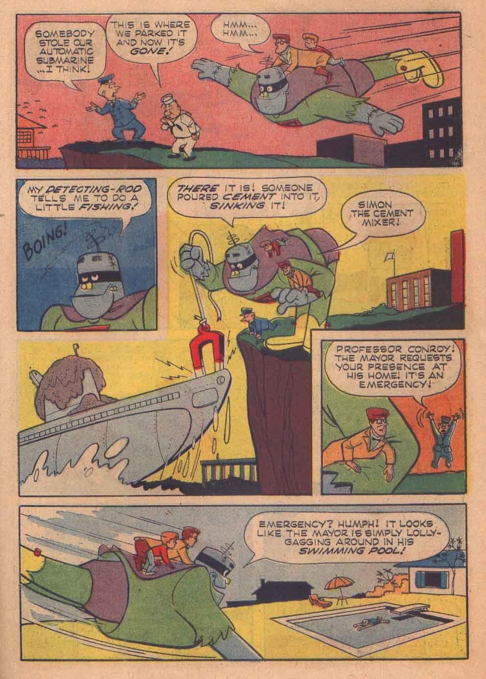 Read online Frankenstein, Jr. comic -  Issue # Full - 27