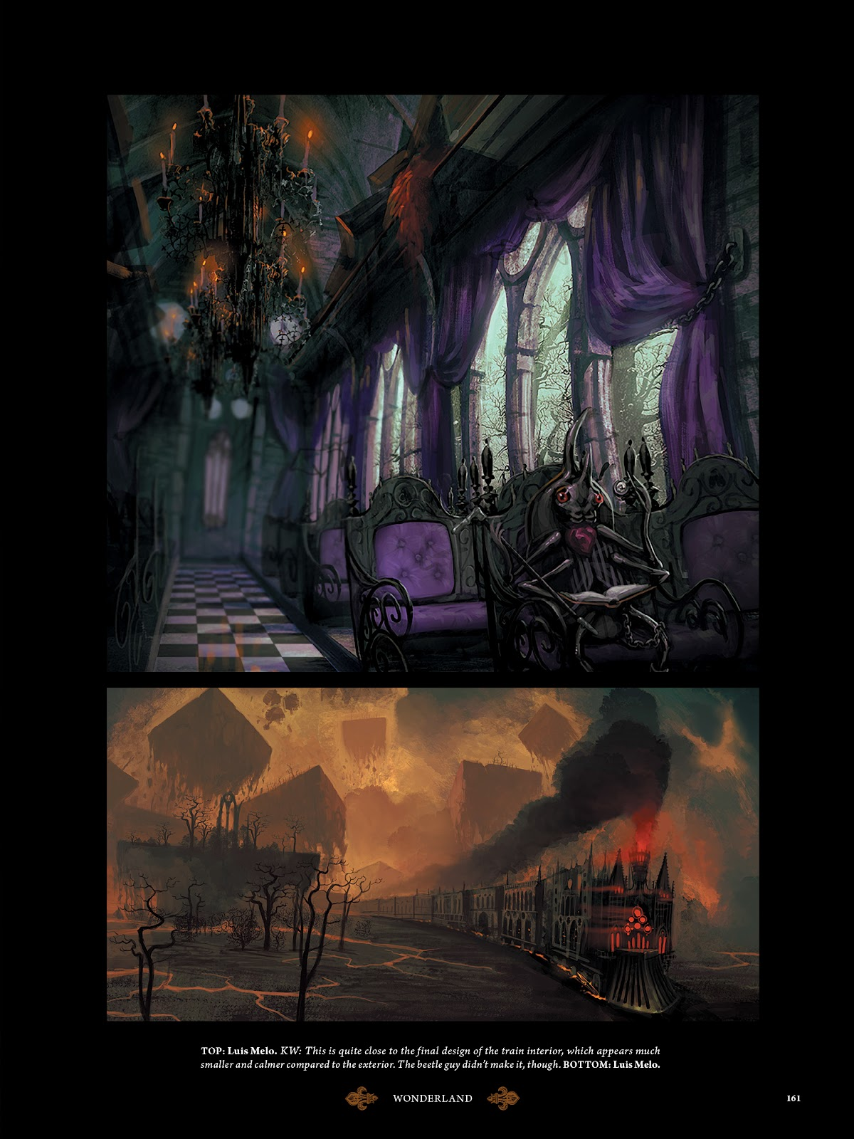 Read online The Art of Alice: Madness Returns comic -  Issue # TPB (Part 2) - 53