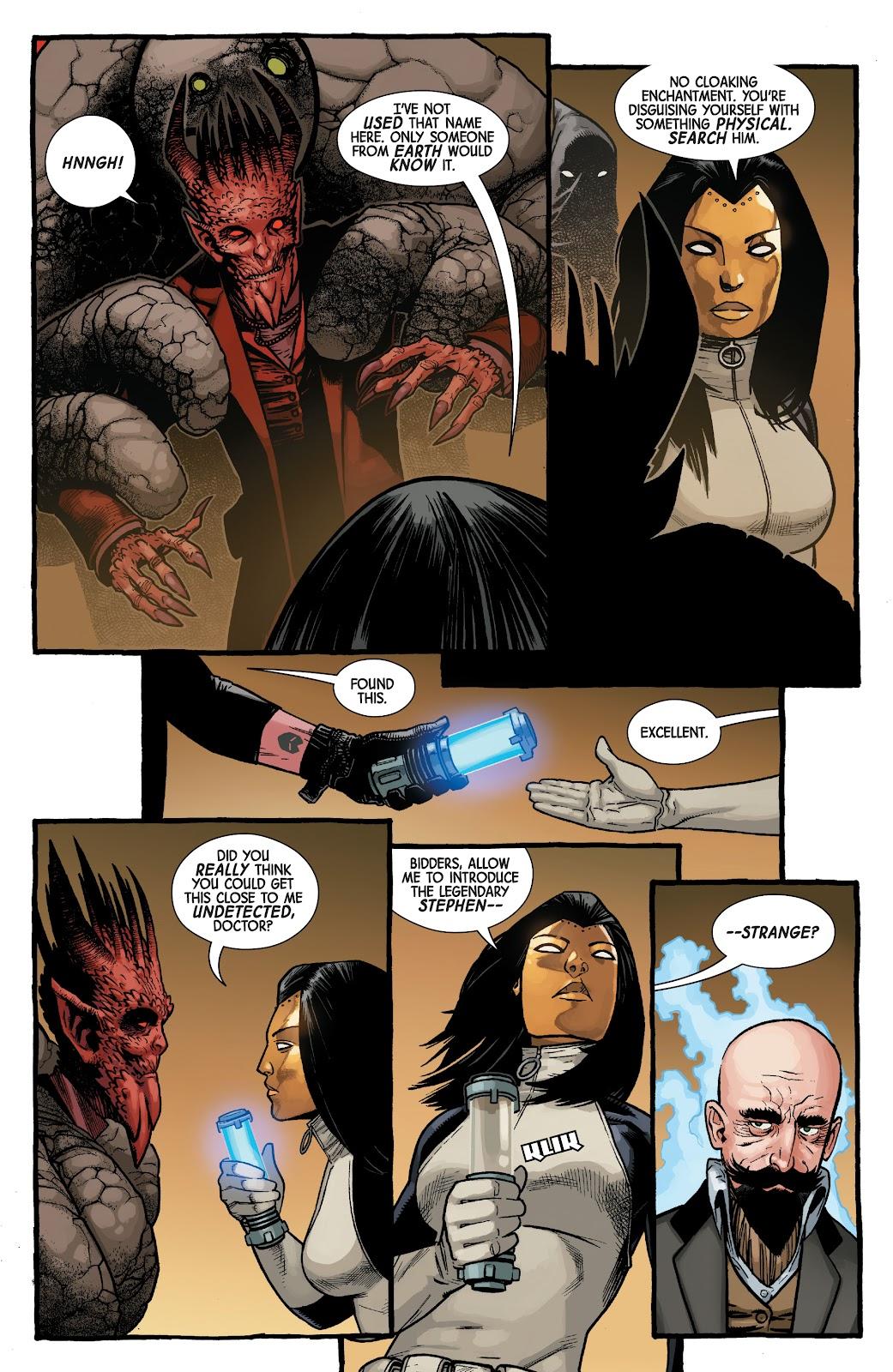 Read online Dr. Strange comic -  Issue #5 - 20